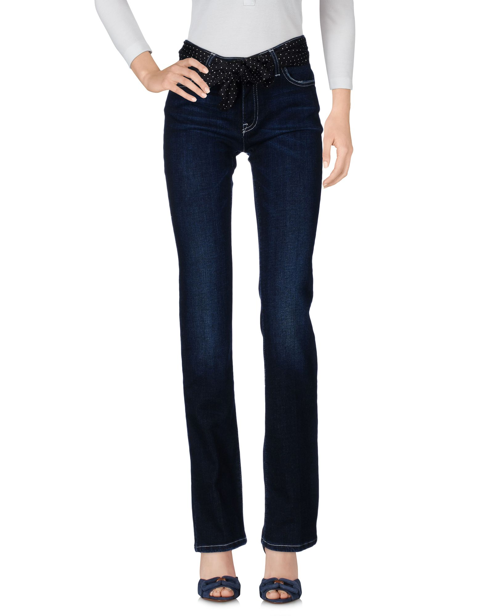 LOVE MOSCHINO Damen Jeanshose Farbe Blau Größe 2 jetztbilligerkaufen