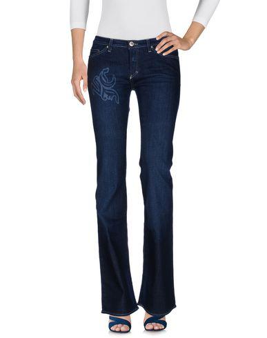 VERSACE JEANS COUTURE Джинсовые брюки couture du cuir кожаные брюки