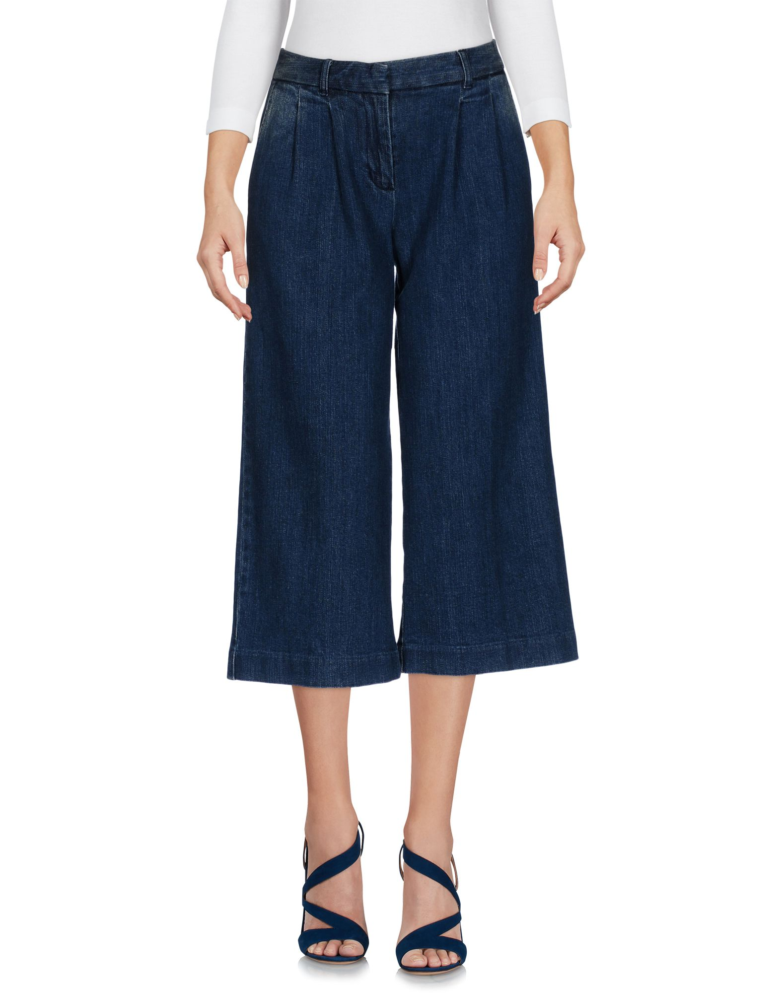 MICHAEL KORS Damen Caprijeans Farbe Blau Größe 5 jetztbilligerkaufen