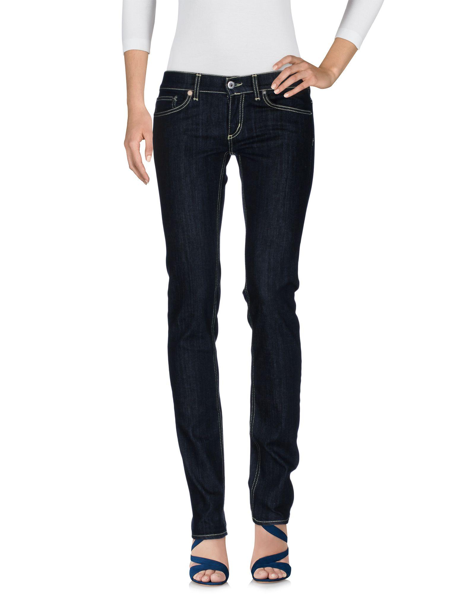 DONDUP Damen Jeanshose Farbe Blau Größe 2 jetztbilligerkaufen