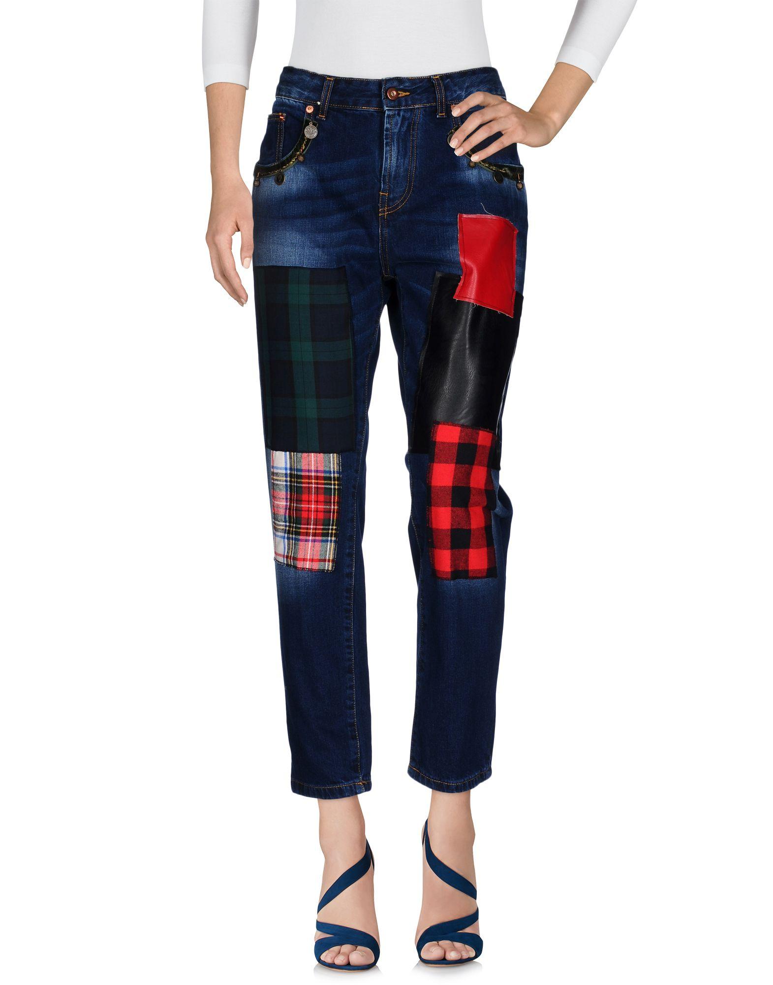 ITALOGY Damen Jeanshose Farbe Blau Größe 3 jetztbilligerkaufen
