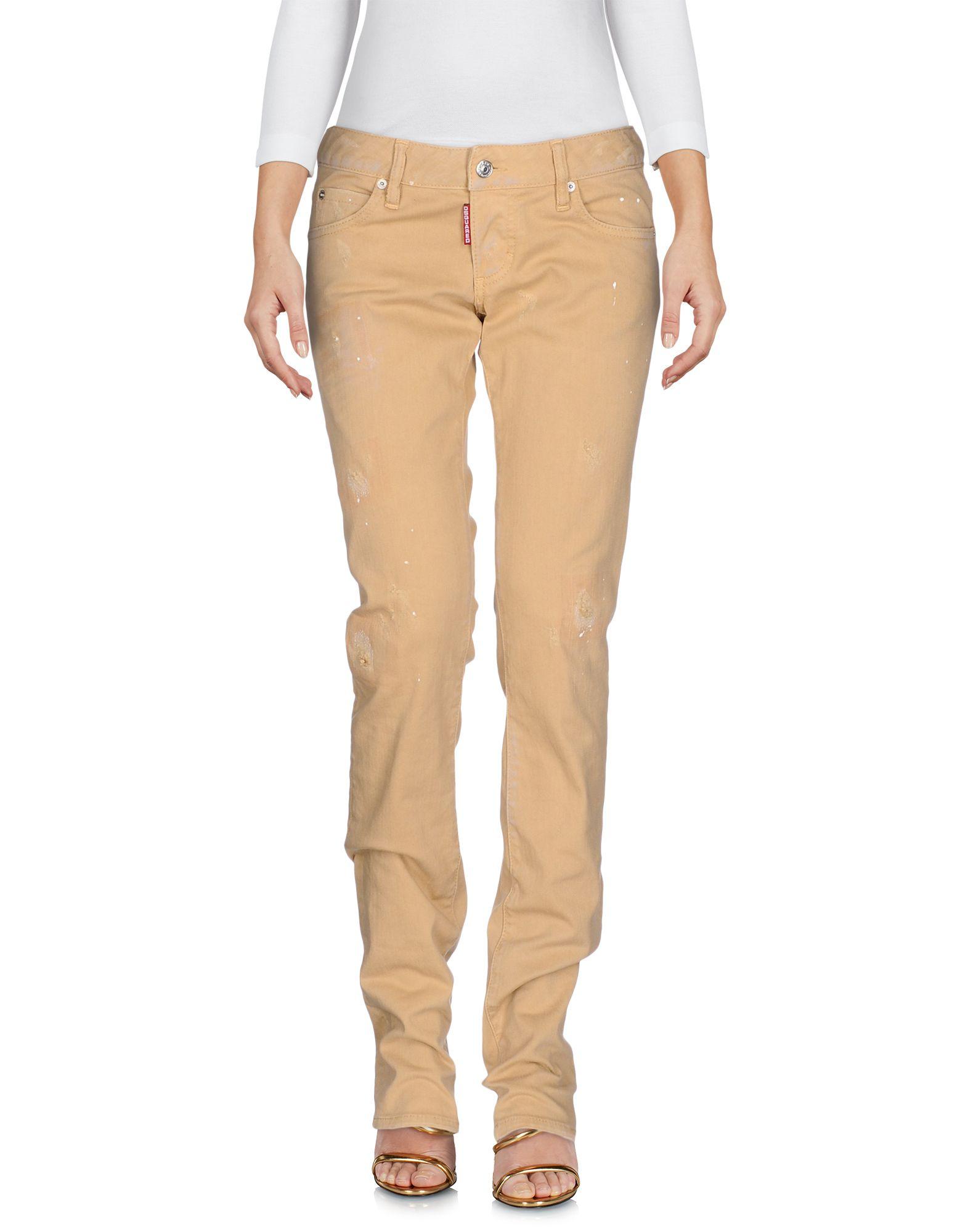 DSQUARED2 Damen Jeanshose Farbe Beige Größe 3 jetztbilligerkaufen