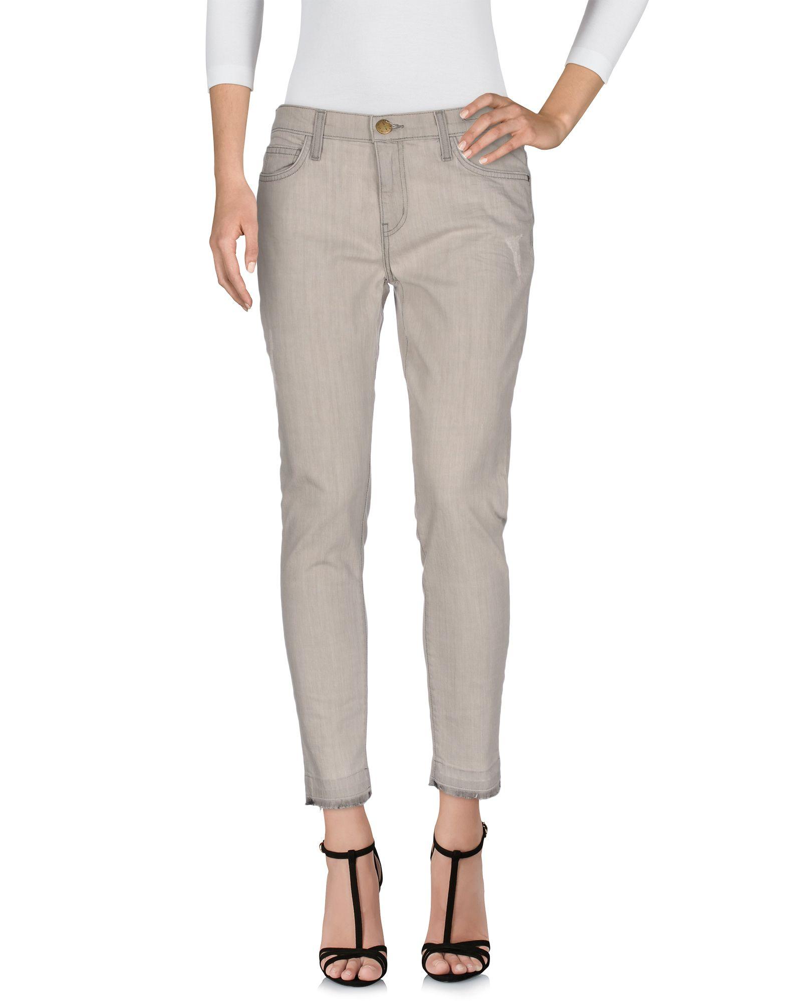 CURRENT/ELLIOTT Damen Jeanshose Farbe Grau Größe 7
