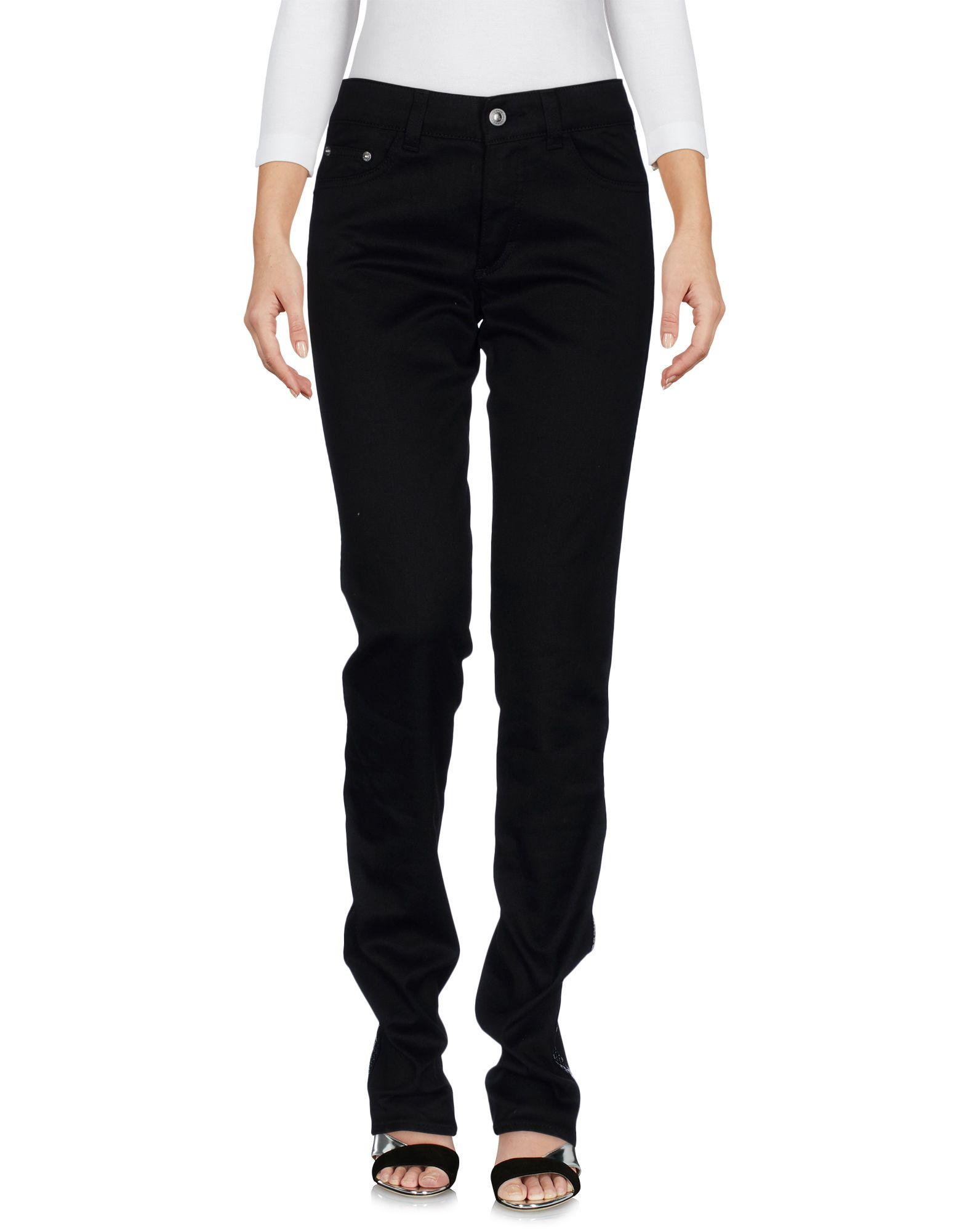 VERSACE JEANS COUTURE Damen Jeanshose Farbe Schwarz Größe 1 jetztbilligerkaufen