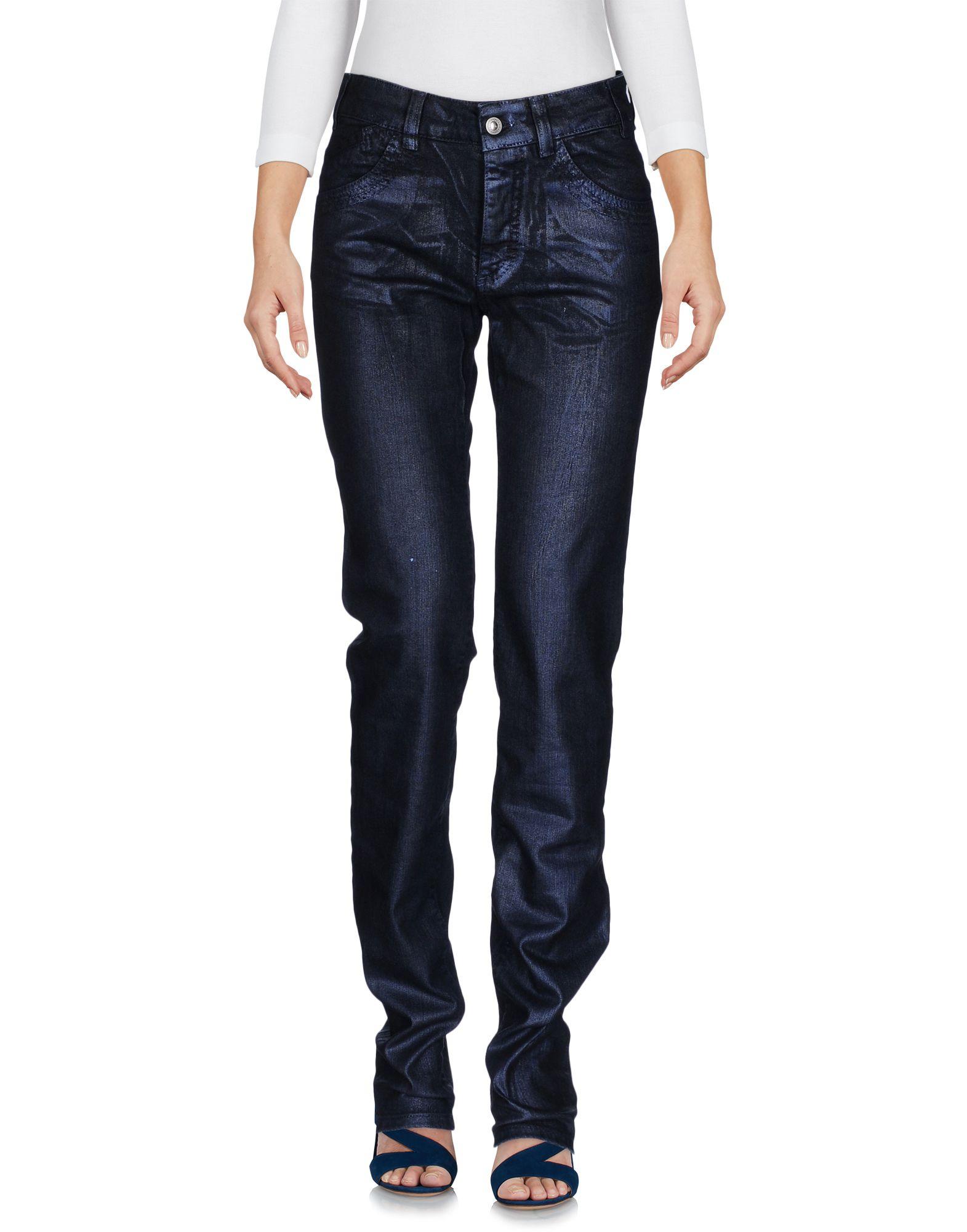 VERSACE JEANS COUTURE Damen Jeanshose Farbe Blau Größe 1 jetztbilligerkaufen