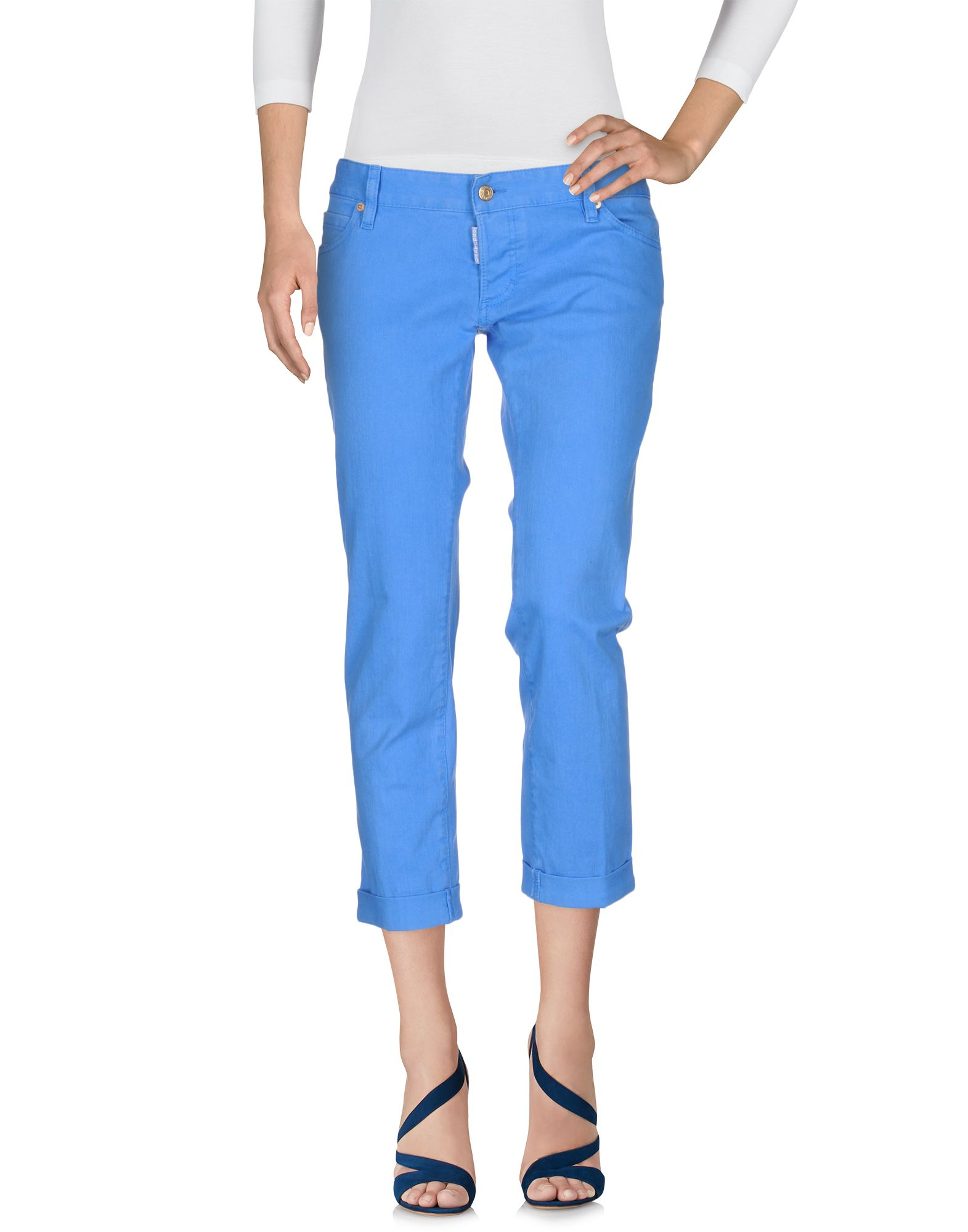 DSQUARED2 Damen Jeanshose Farbe Azurblau Größe 6 jetztbilligerkaufen