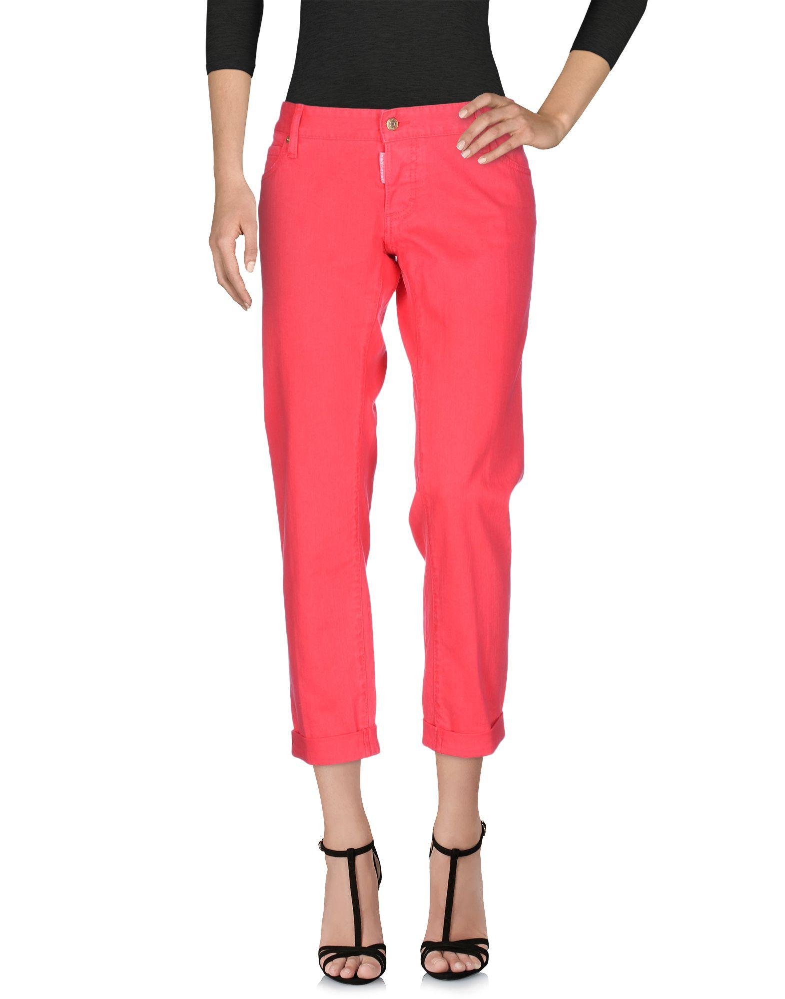 DSQUARED2 Damen Jeanshose Farbe Fuchsia Größe 6 jetztbilligerkaufen