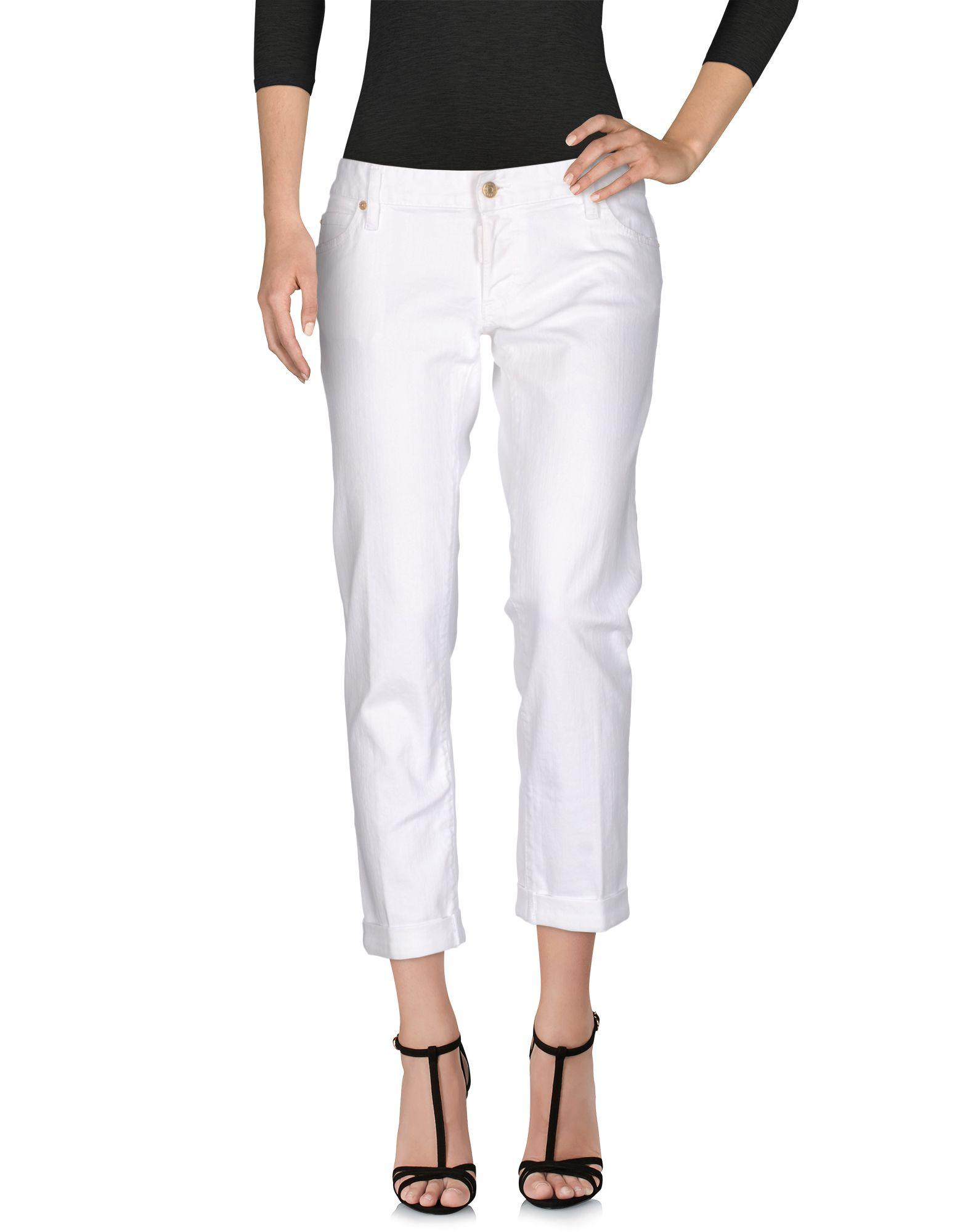 DSQUARED2 Damen Jeanshose Farbe Weiß Größe 6 jetztbilligerkaufen
