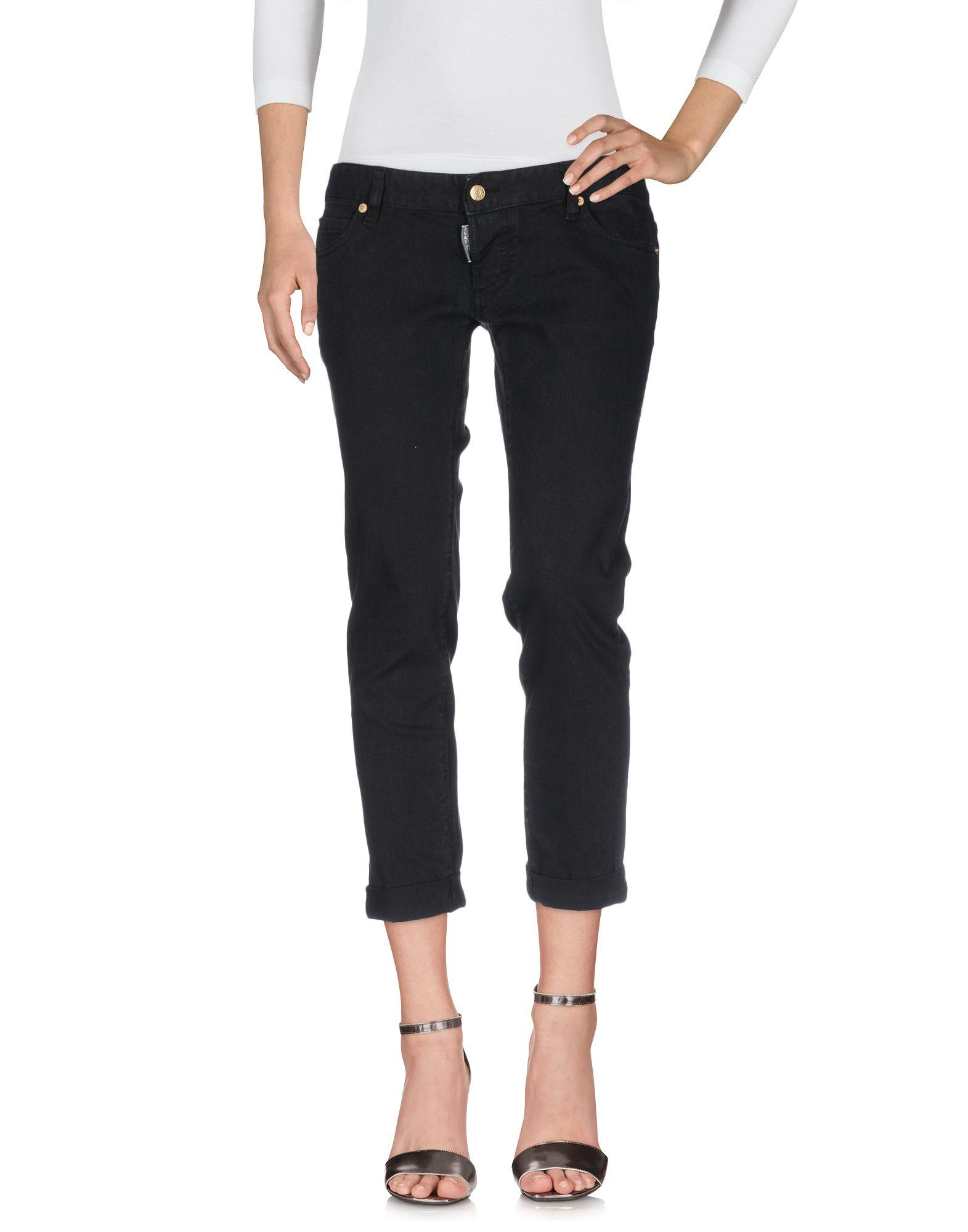 DSQUARED2 Damen Jeanshose Farbe Schwarz Größe 4 jetztbilligerkaufen