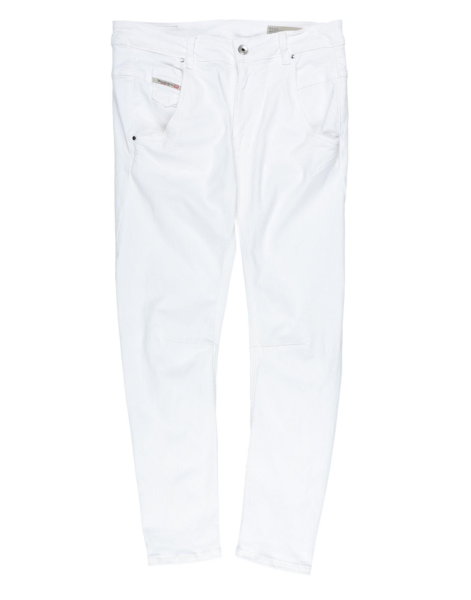 DIESEL Mädchen 9-16 jahre Jeanshose Farbe Weiß Größe 7 jetztbilligerkaufen