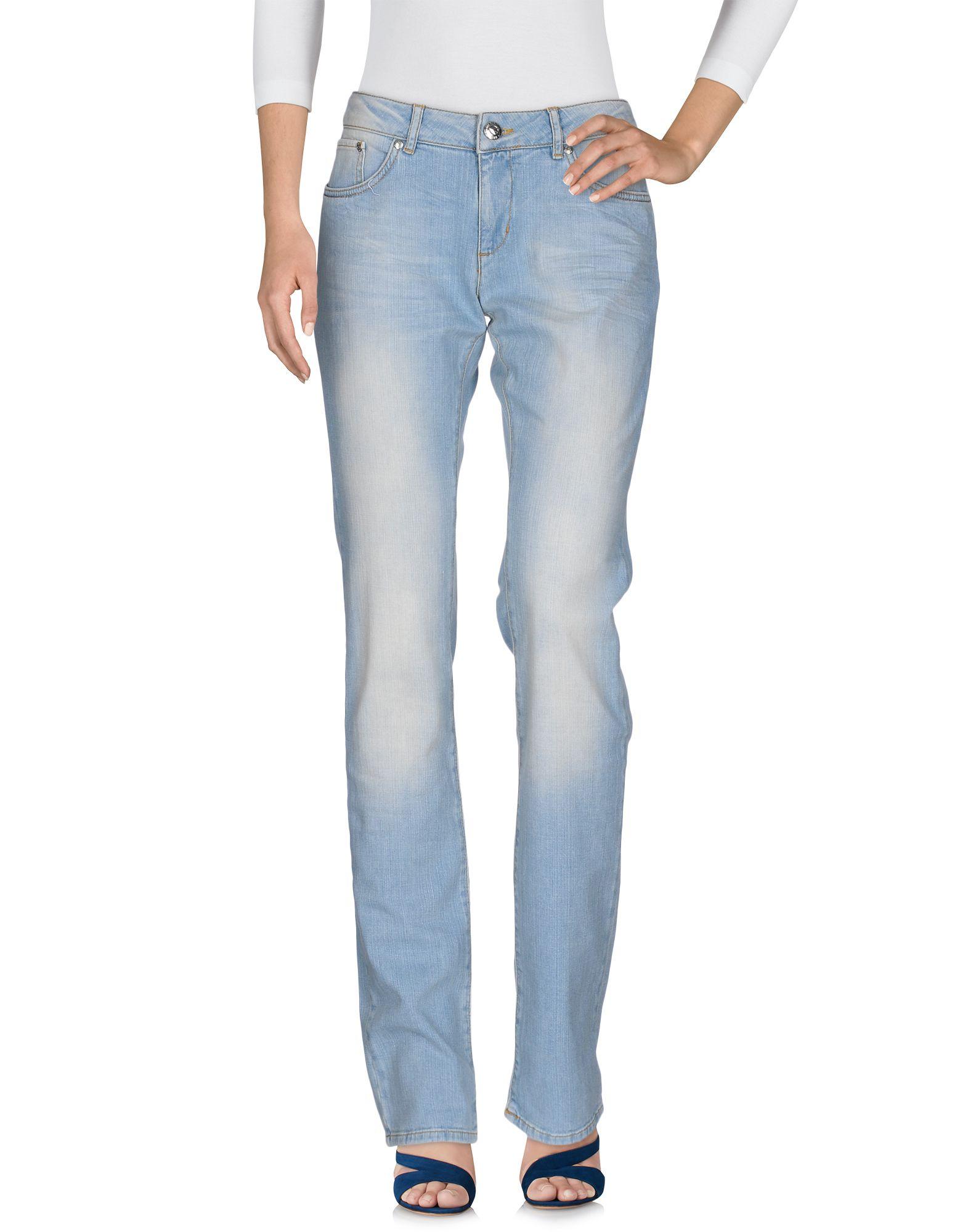LOVE MOSCHINO Damen Jeanshose Farbe Blau Größe 8 jetztbilligerkaufen