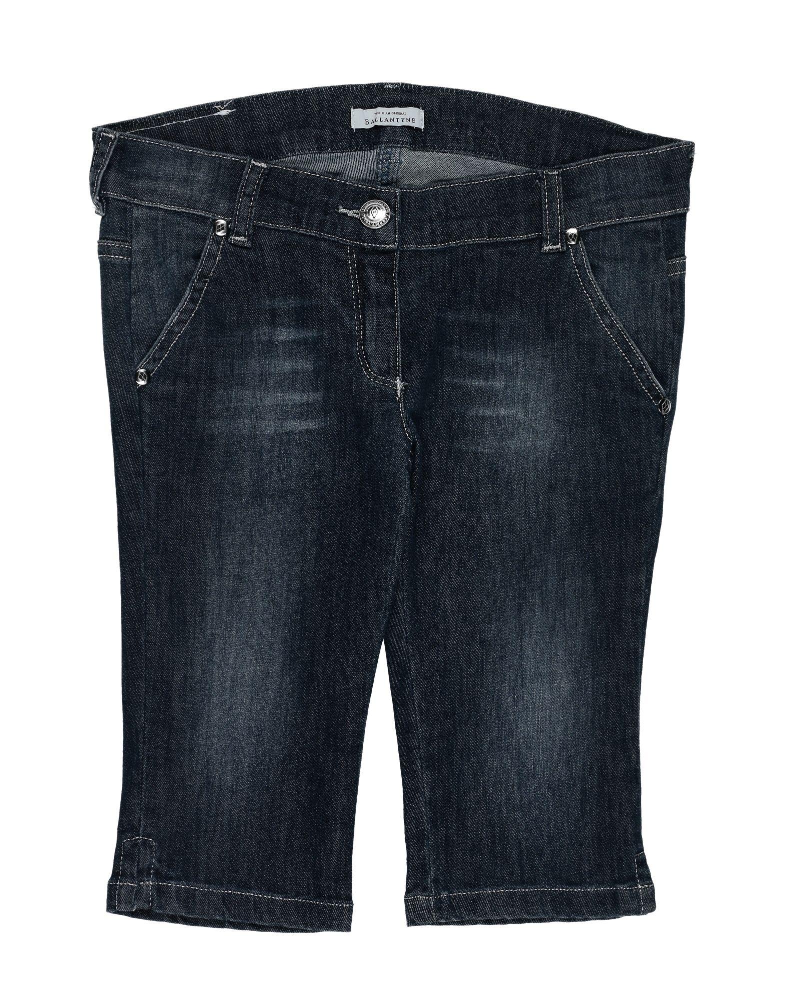 BALLANTYNE Джинсовые брюки-капри ballantyne of peebles джинсовые брюки