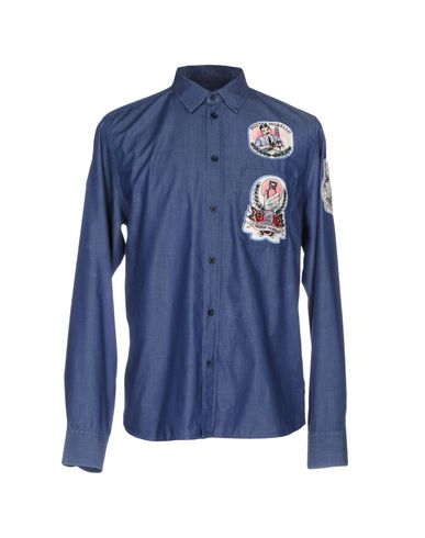 Джинсовая рубашка FRANKIE MORELLO 42608389QT
