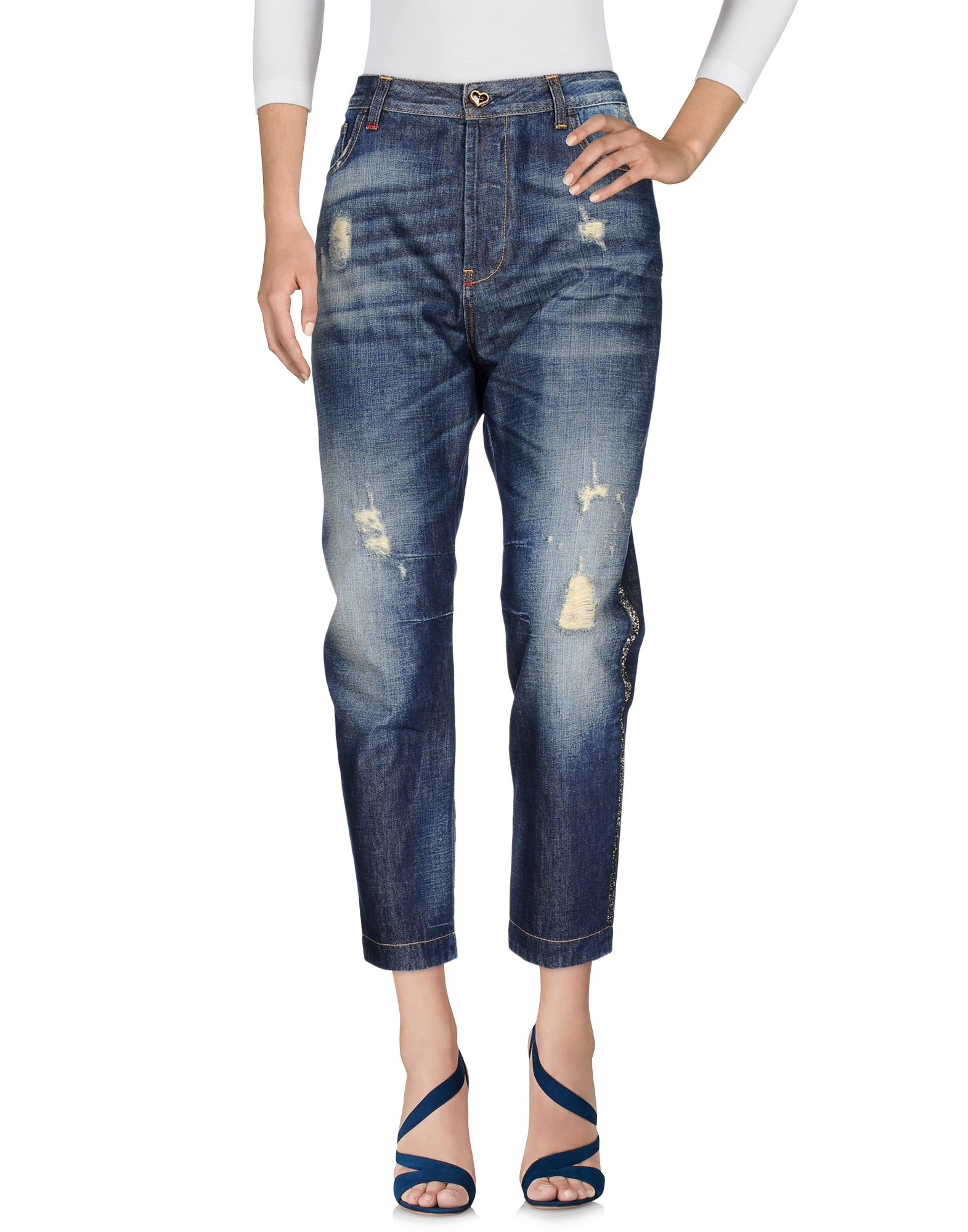TWIN-SET JEANS Damen Jeanshose Farbe Blau Größe 6 jetztbilligerkaufen