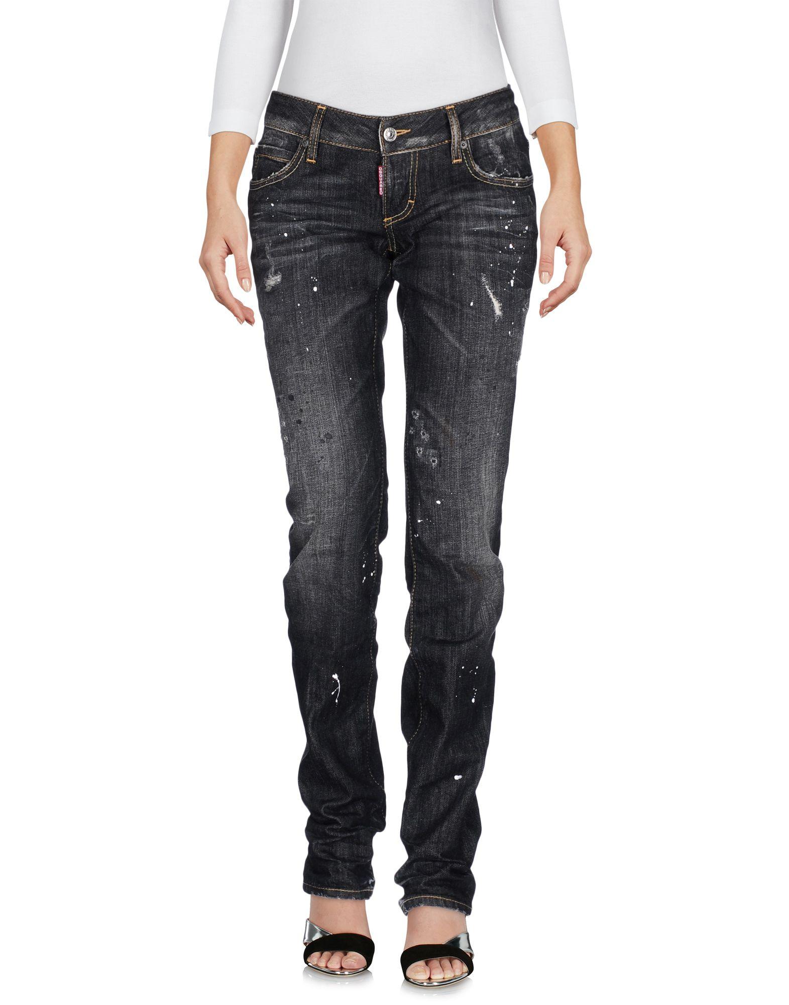 DSQUARED2 Damen Jeanshose Farbe Schwarz Größe 1 jetztbilligerkaufen