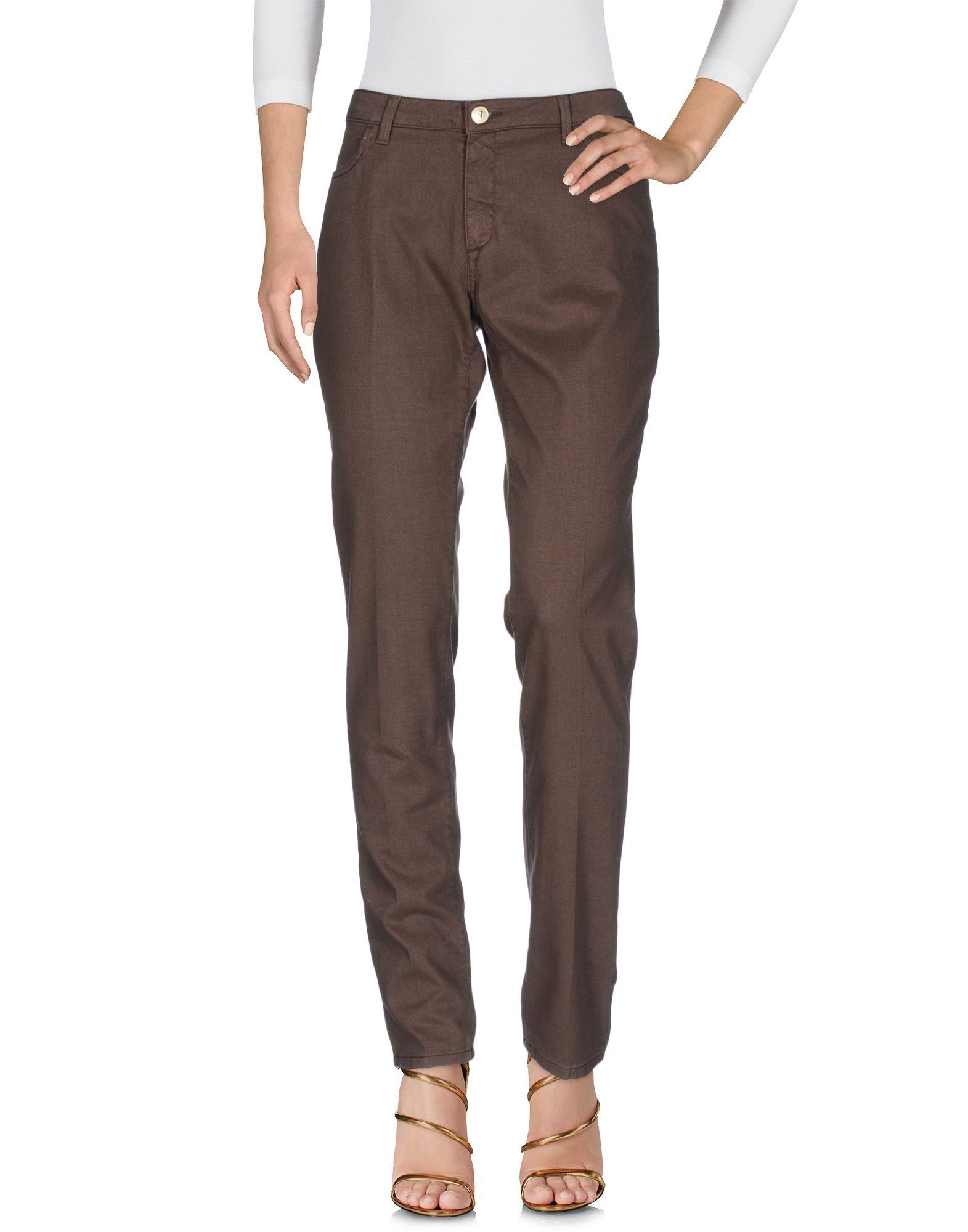 TRUSSARDI JEANS Damen Jeanshose Farbe Dunkelbraun Größe 9 jetztbilligerkaufen