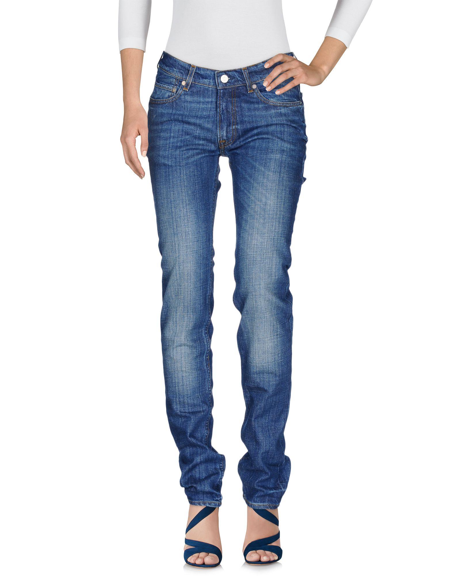 Фото ACNE STUDIOS Джинсовые брюки. Купить с доставкой