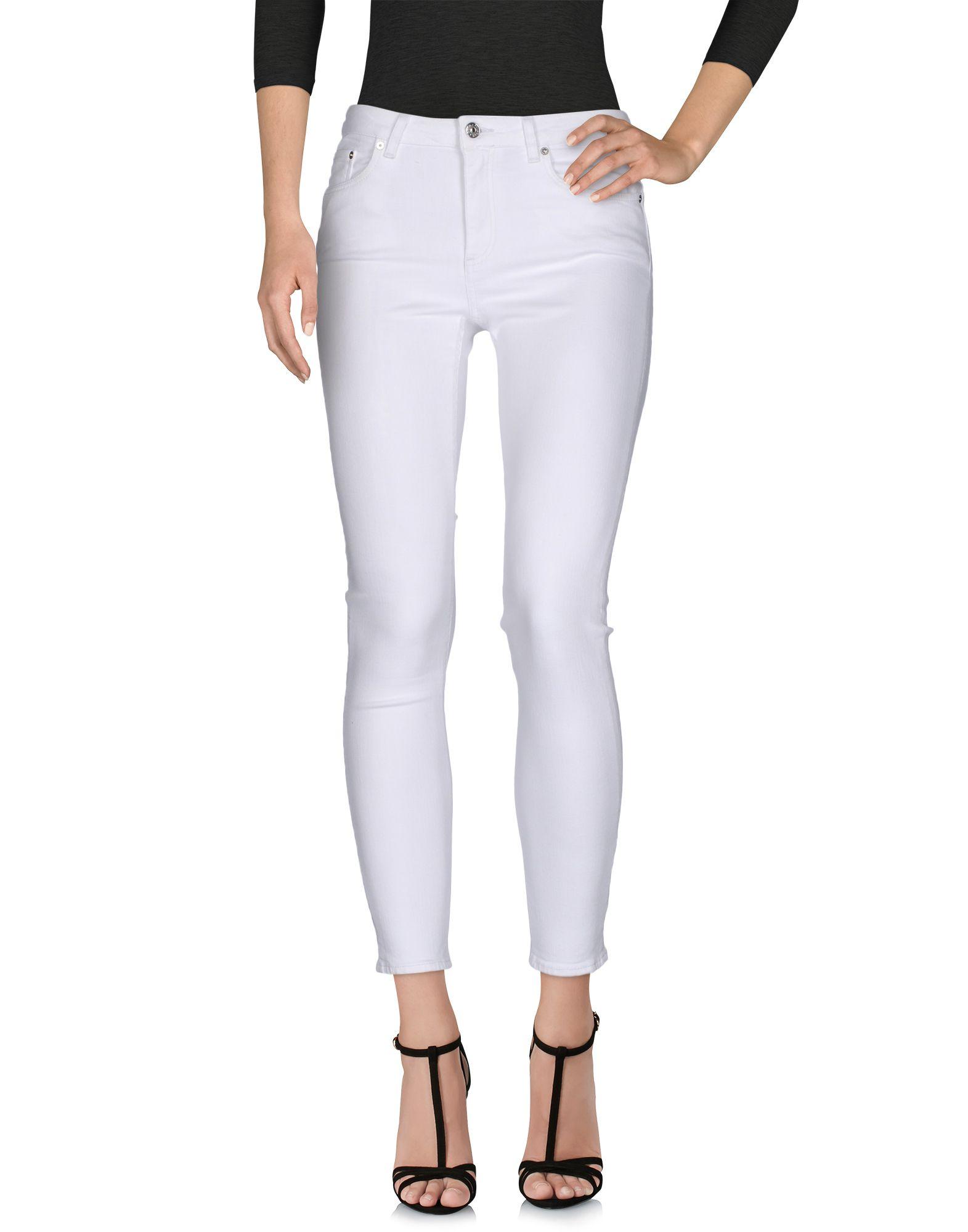 ACNE STUDIOS Damen Jeanshose Farbe Weiß Größe 3 jetztbilligerkaufen