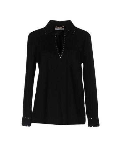 Джинсовая рубашка SAINT LAURENT 42608535LU