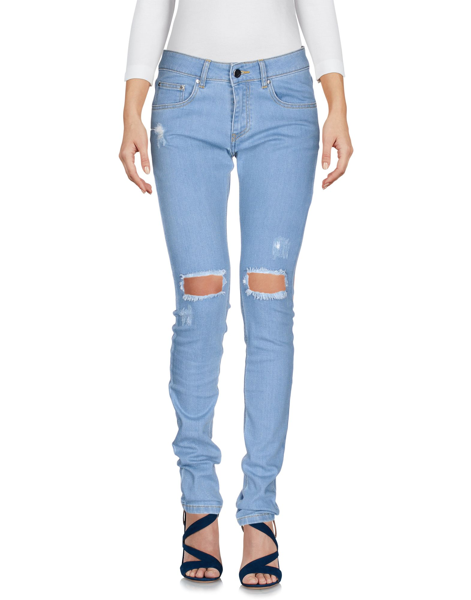 FAP FILLES A PAPA Damen Jeanshose Farbe Blau Größe 5 jetztbilligerkaufen