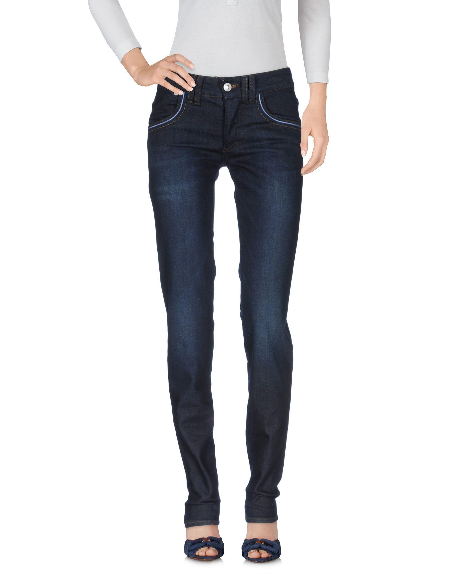 цена VERSACE JEANS COUTURE Джинсовые брюки онлайн в 2017 году