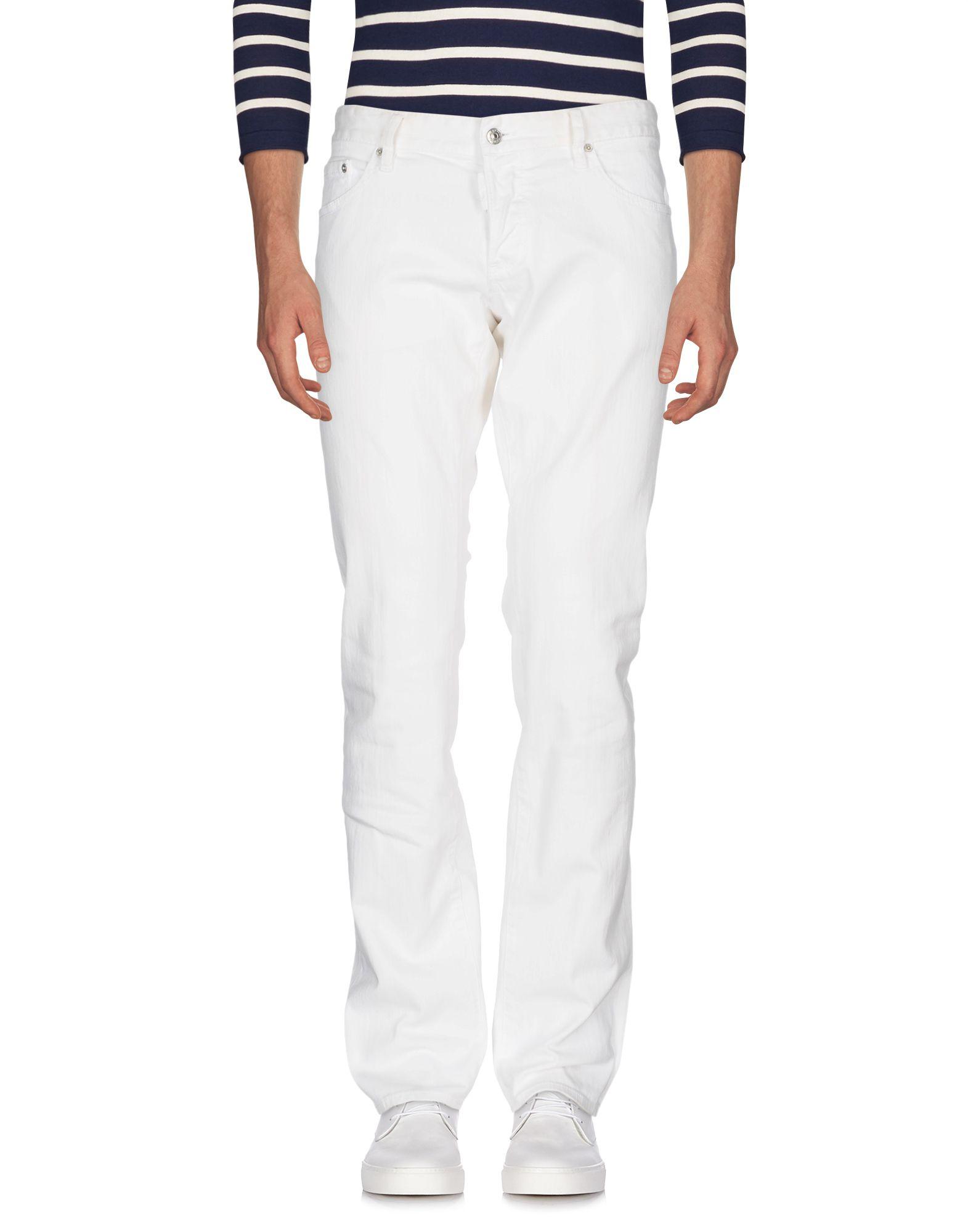 DSQUARED2 Herren Jeanshose Farbe Weiß Größe 6 jetztbilligerkaufen