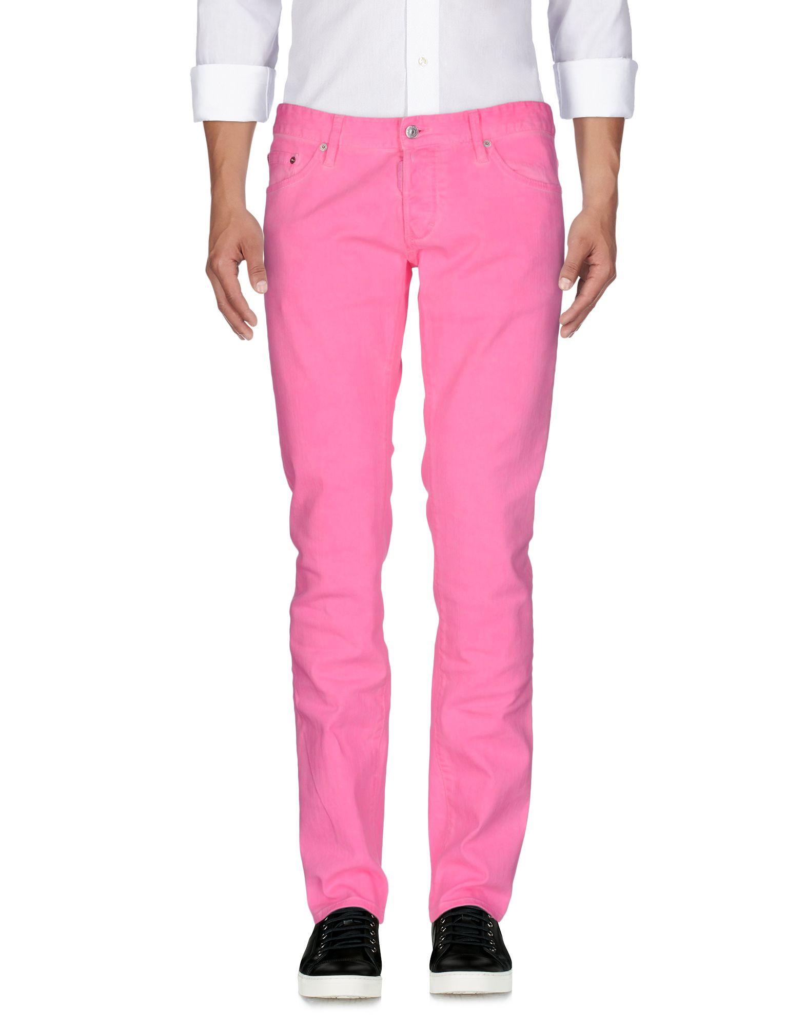 DSQUARED2 Herren Jeanshose Farbe Fuchsia Größe 3 jetztbilligerkaufen