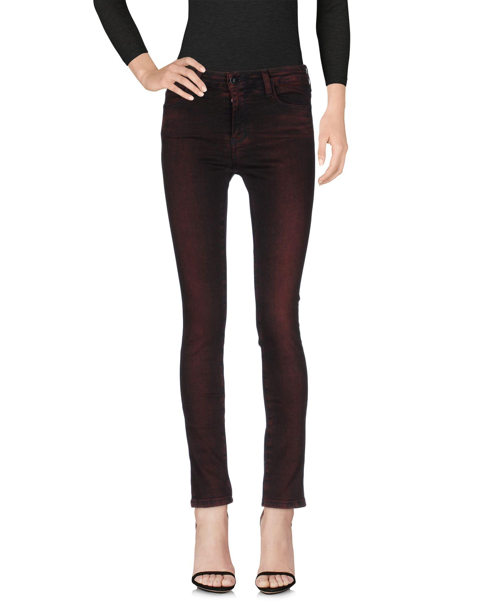 BROCKENBOW Damen Jeanshose Farbe Bordeaux Größe 1 jetztbilligerkaufen