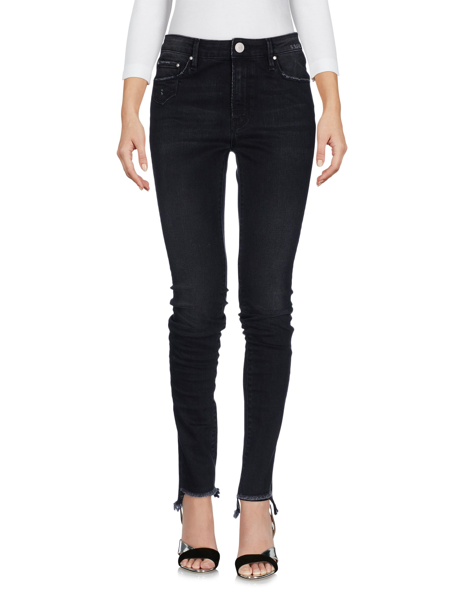 DONT CRY Denim Pants in Black