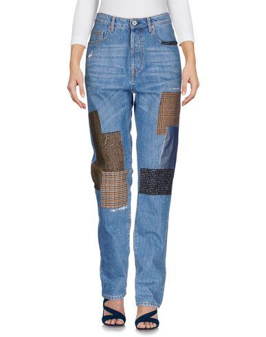 Джинсовые брюки OTTOD'AME