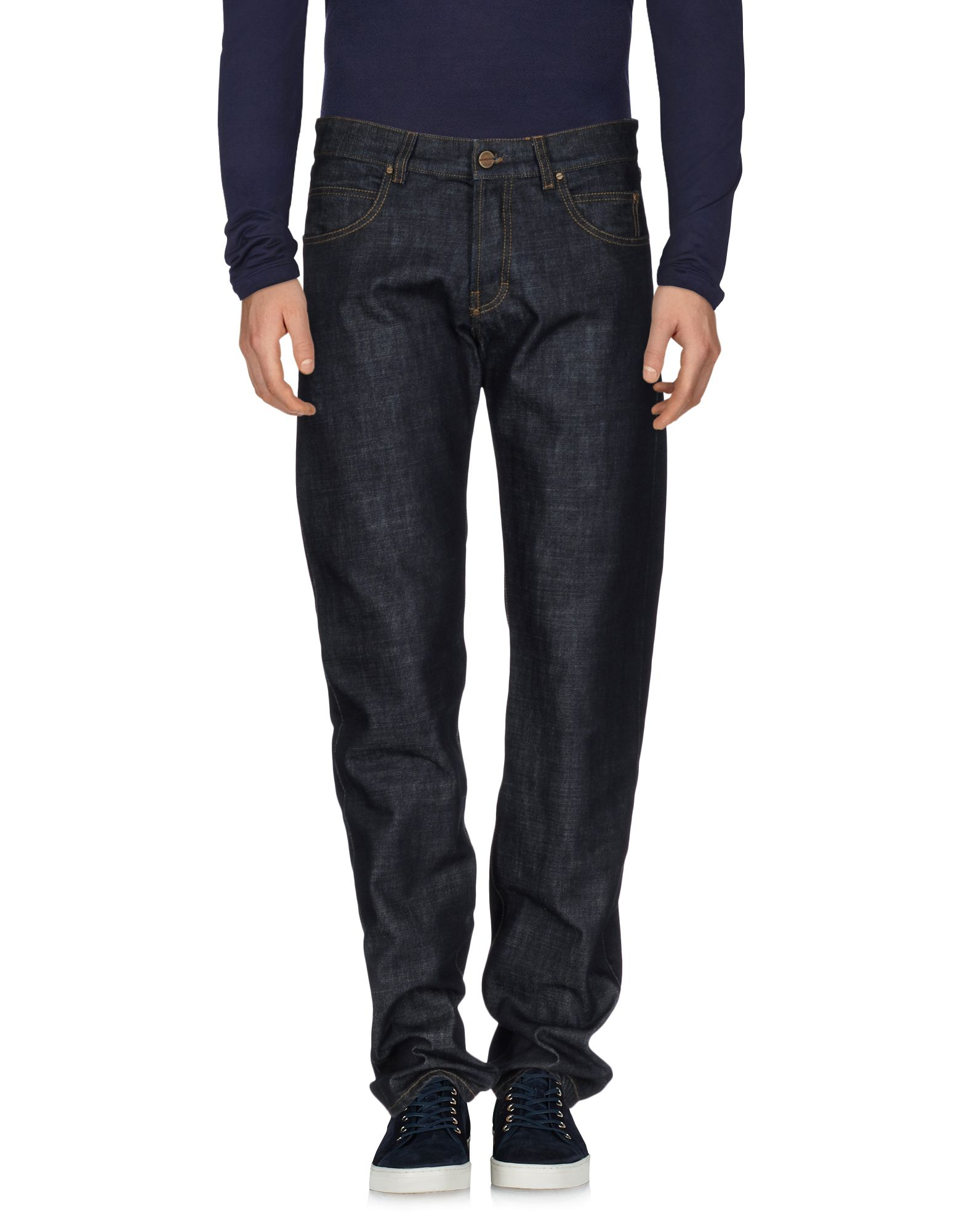 GAETANO NAVARRA Джинсовые брюки цены онлайн