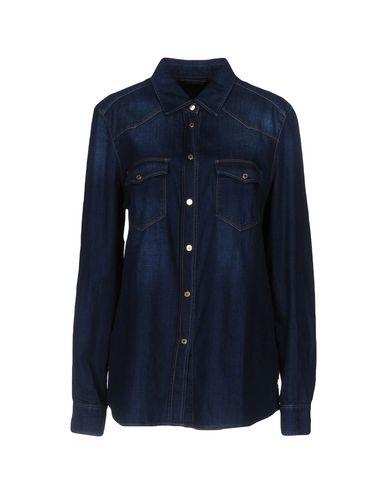 Джинсовая рубашка 7 FOR ALL MANKIND 42609948LG