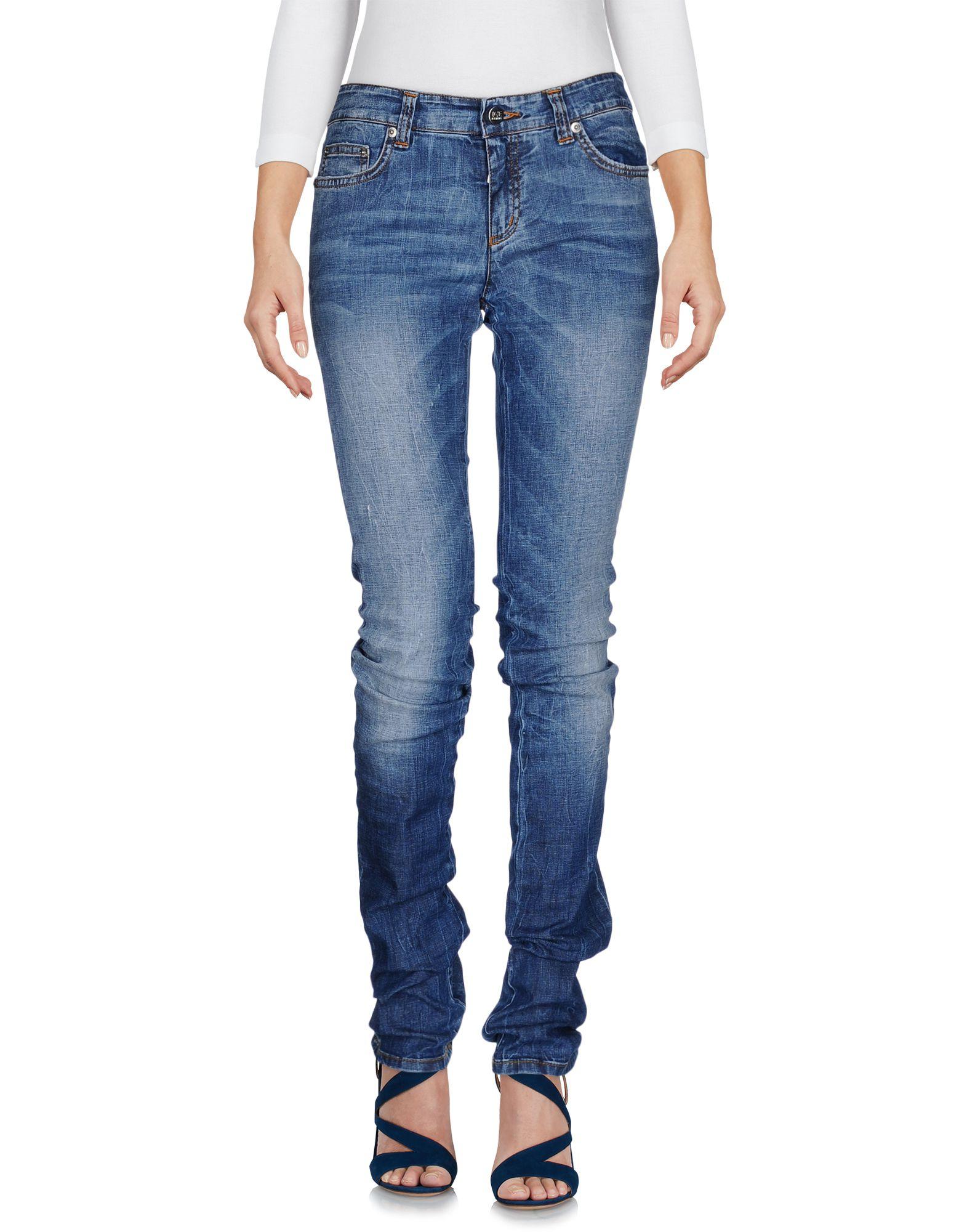Фото ICE ICEBERG Джинсовые брюки. Купить с доставкой