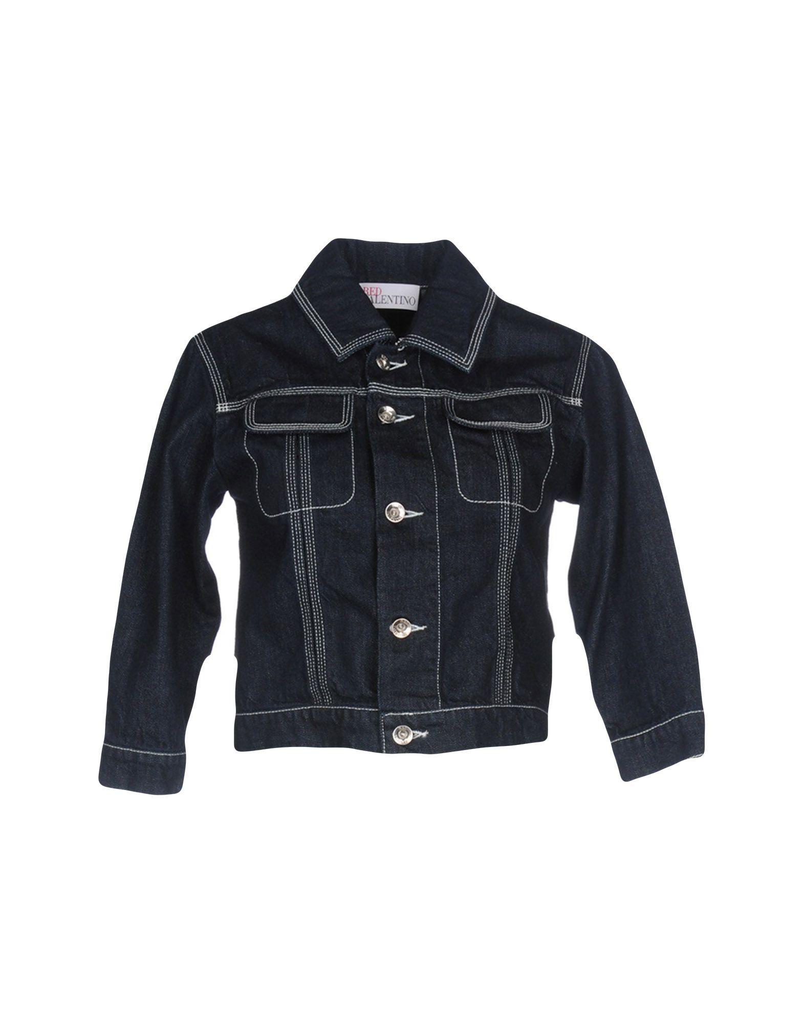 REDValentino Джинсовая верхняя одежда