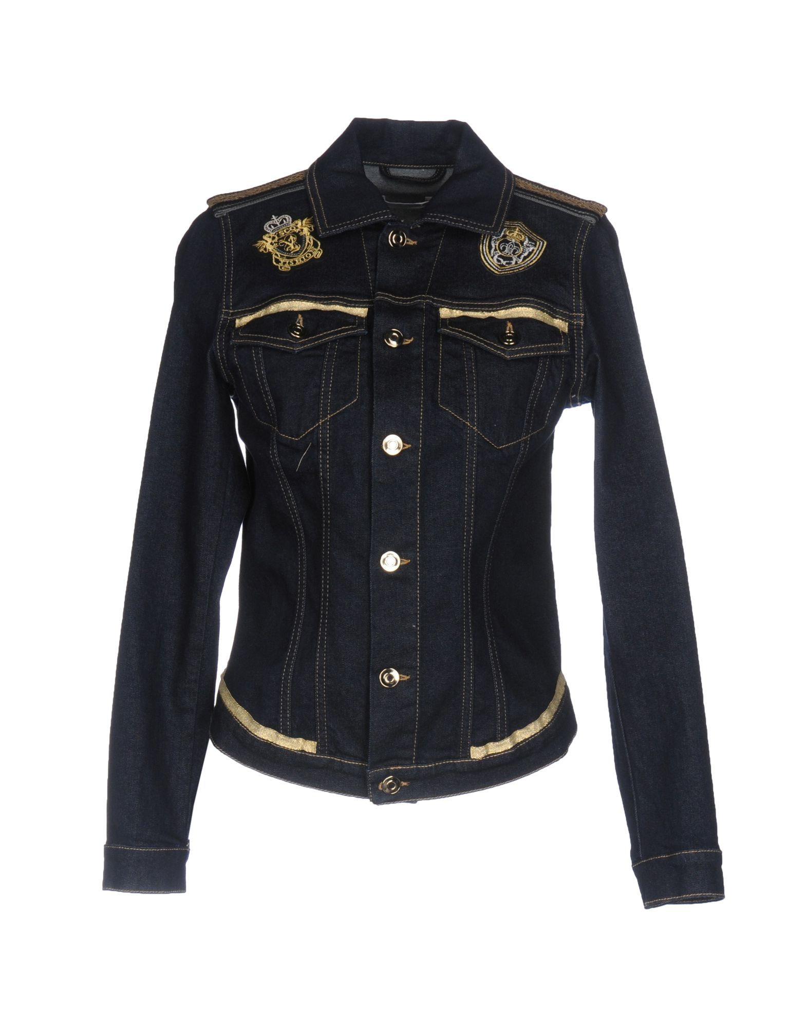CARLA G. Джинсовая верхняя одежда цены онлайн