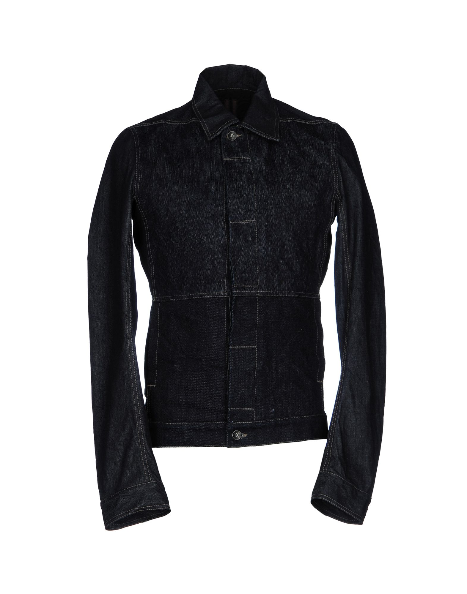 DRKSHDW by RICK OWENS Джинсовая верхняя одежда пуловер quelle rick cardona by heine 3918
