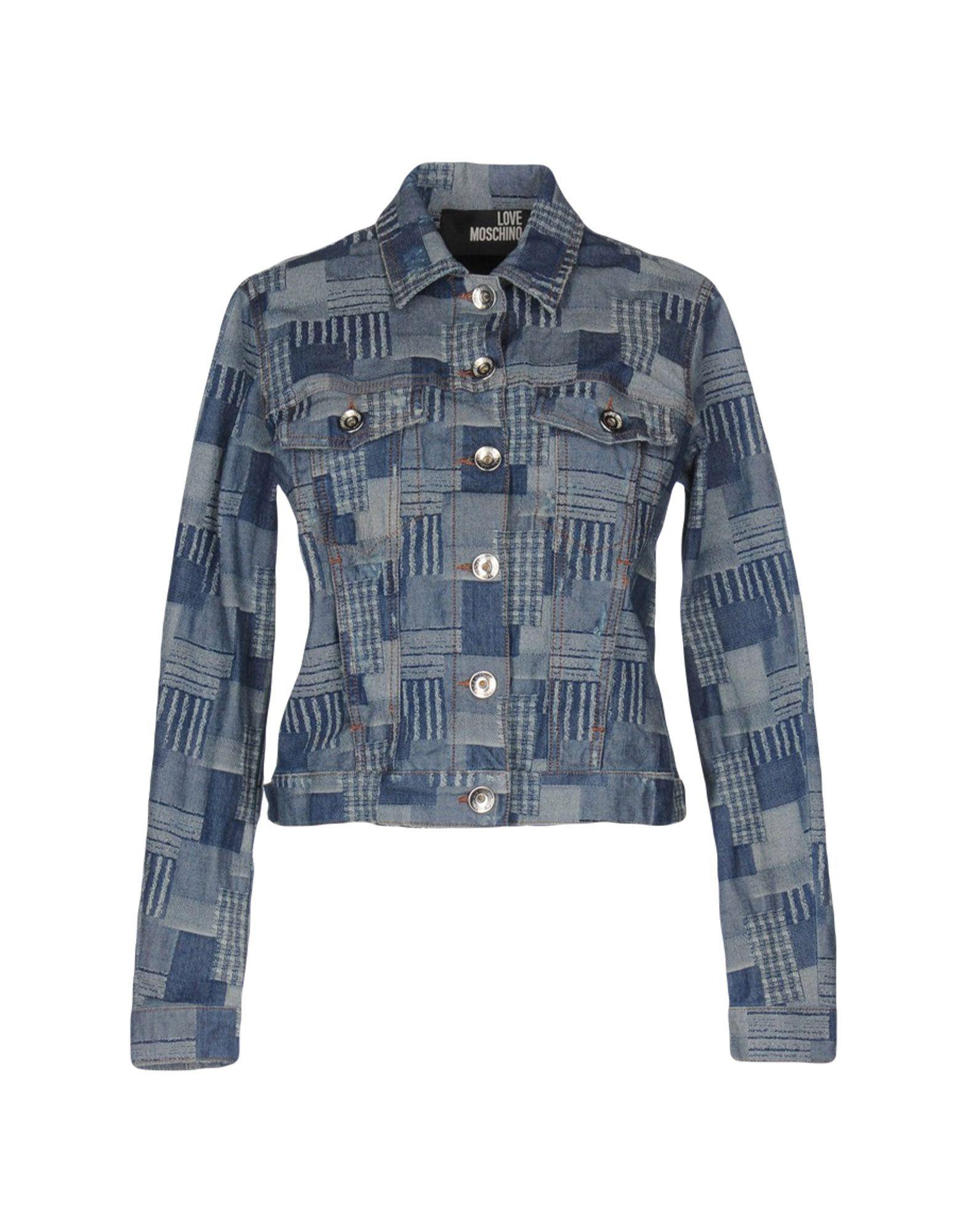 moschino джинсовая верхняя одежда LOVE MOSCHINO Джинсовая верхняя одежда