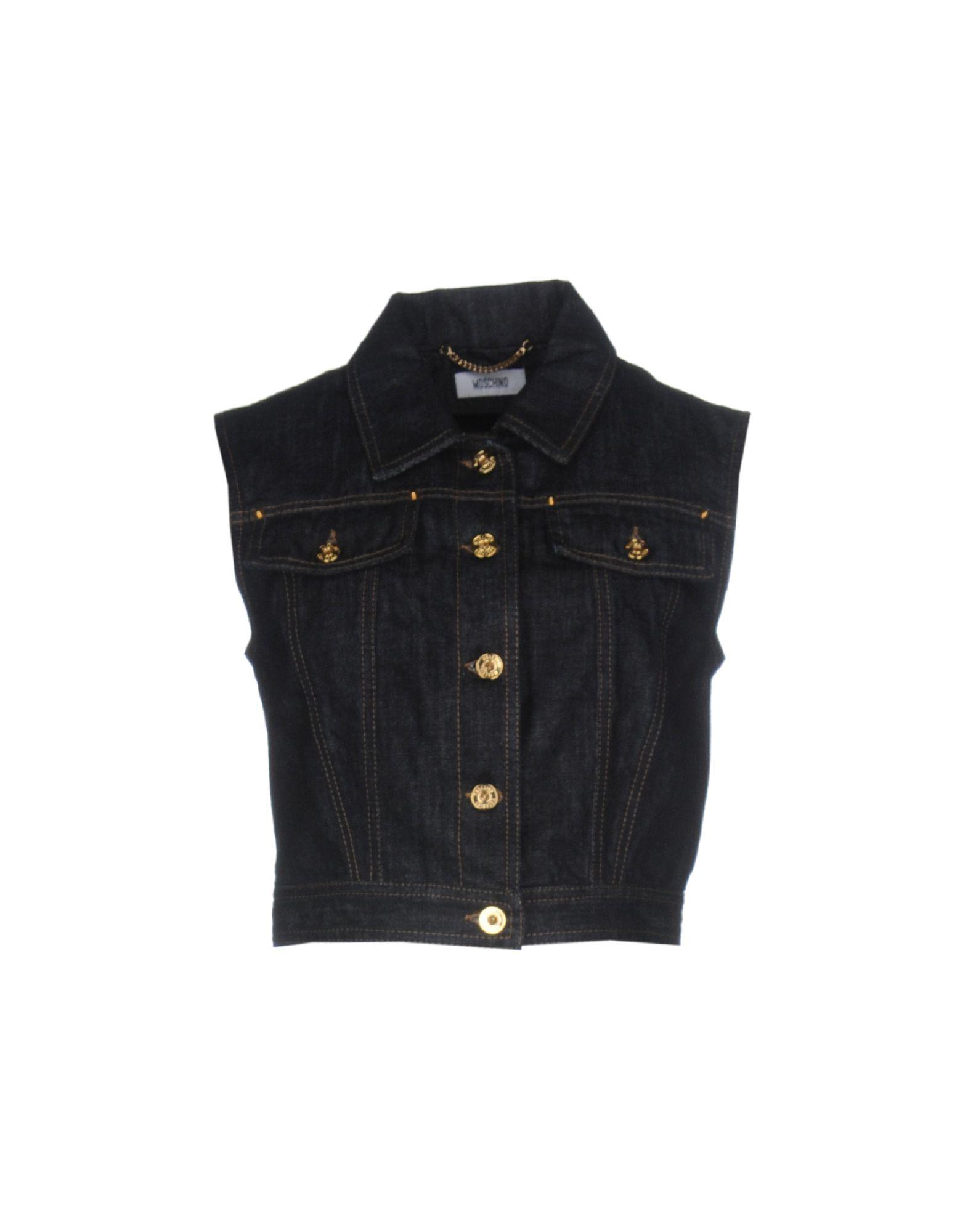 moschino джинсовая верхняя одежда MOSCHINO Джинсовая верхняя одежда
