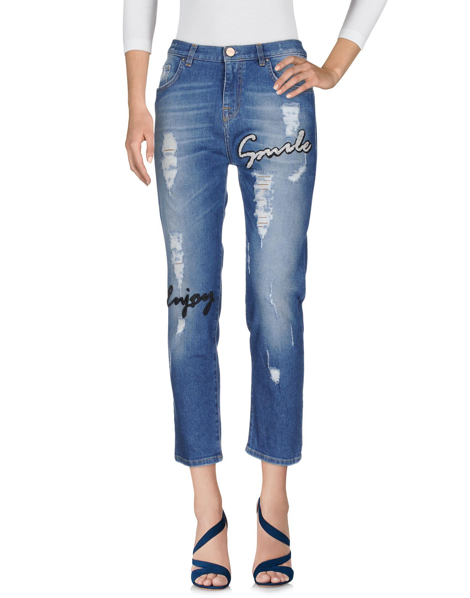 PINKO Damen Jeanshose7 blau