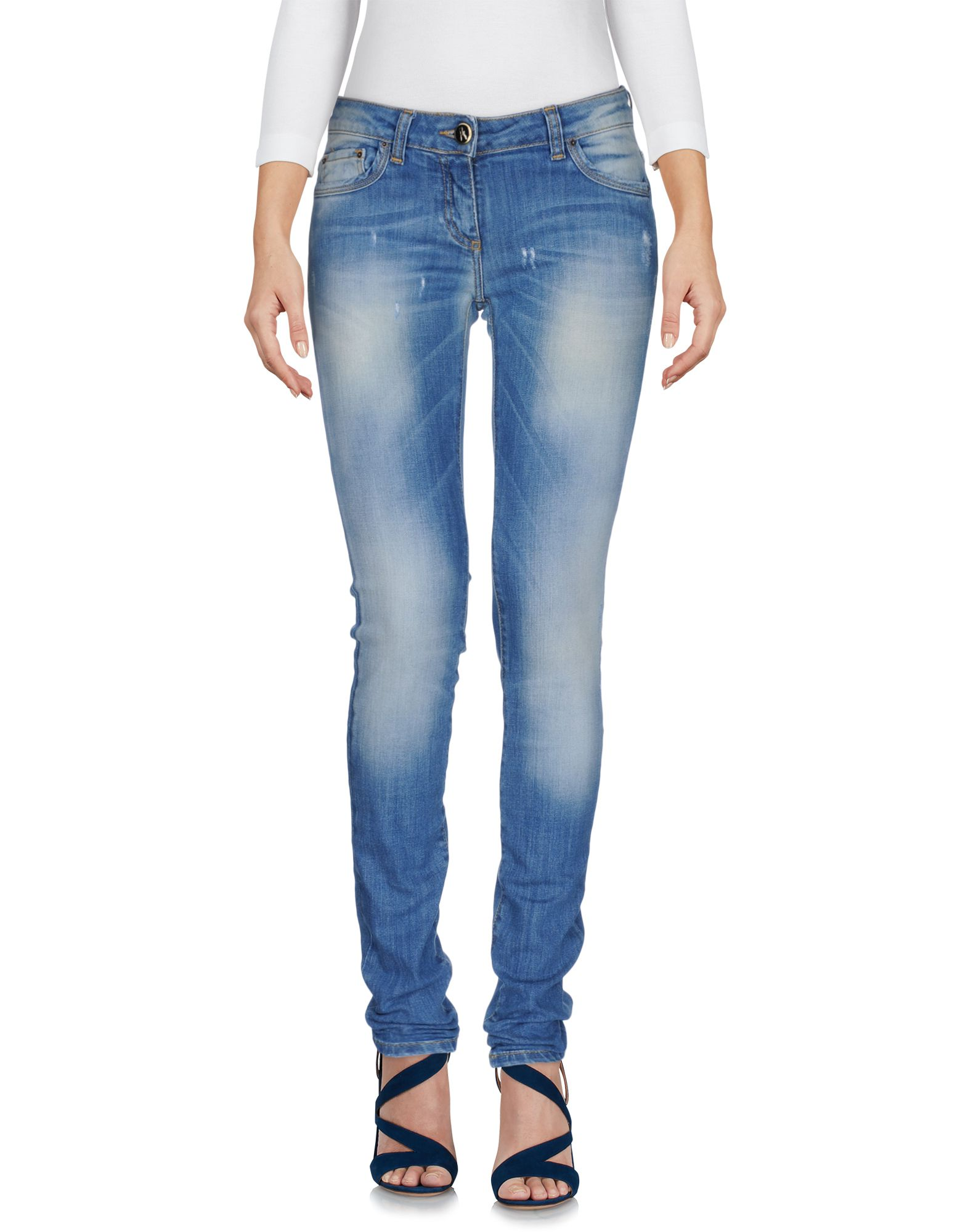 ANIYE BY Damen Jeanshose Farbe Blau Größe 8