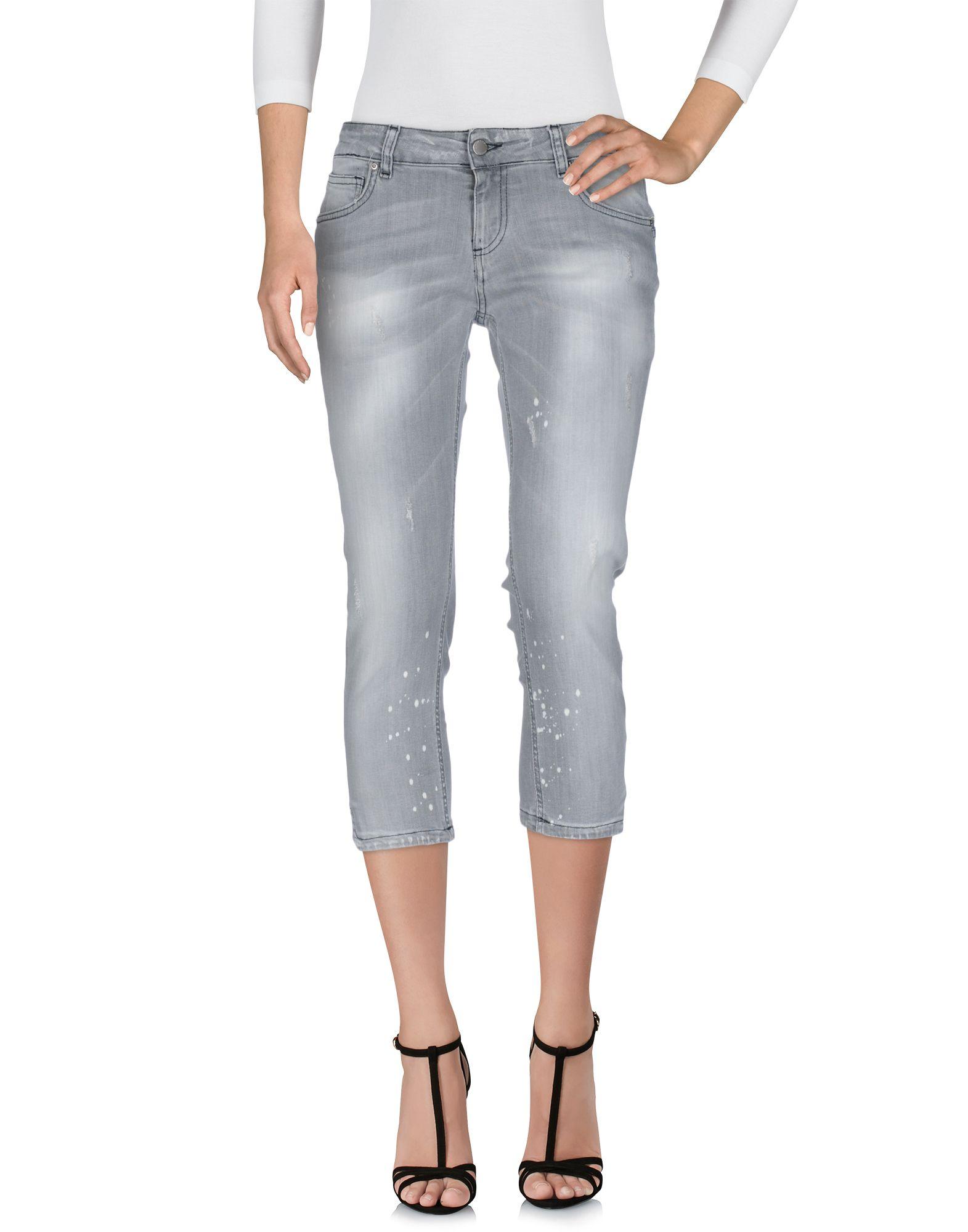 YOSHII Джинсовые брюки-капри start up джинсовые брюки капри