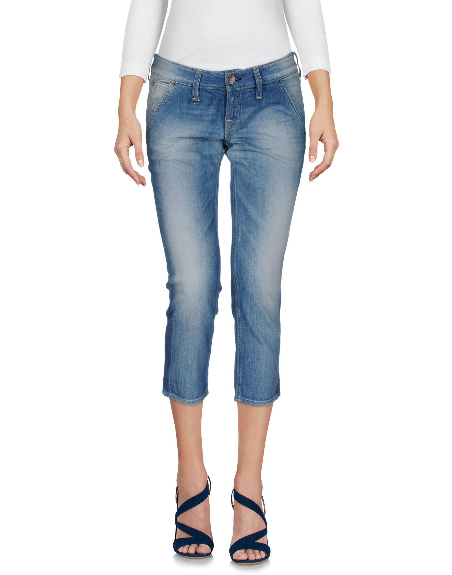 NOLITA DE NIMES Джинсовые брюки-капри цены онлайн