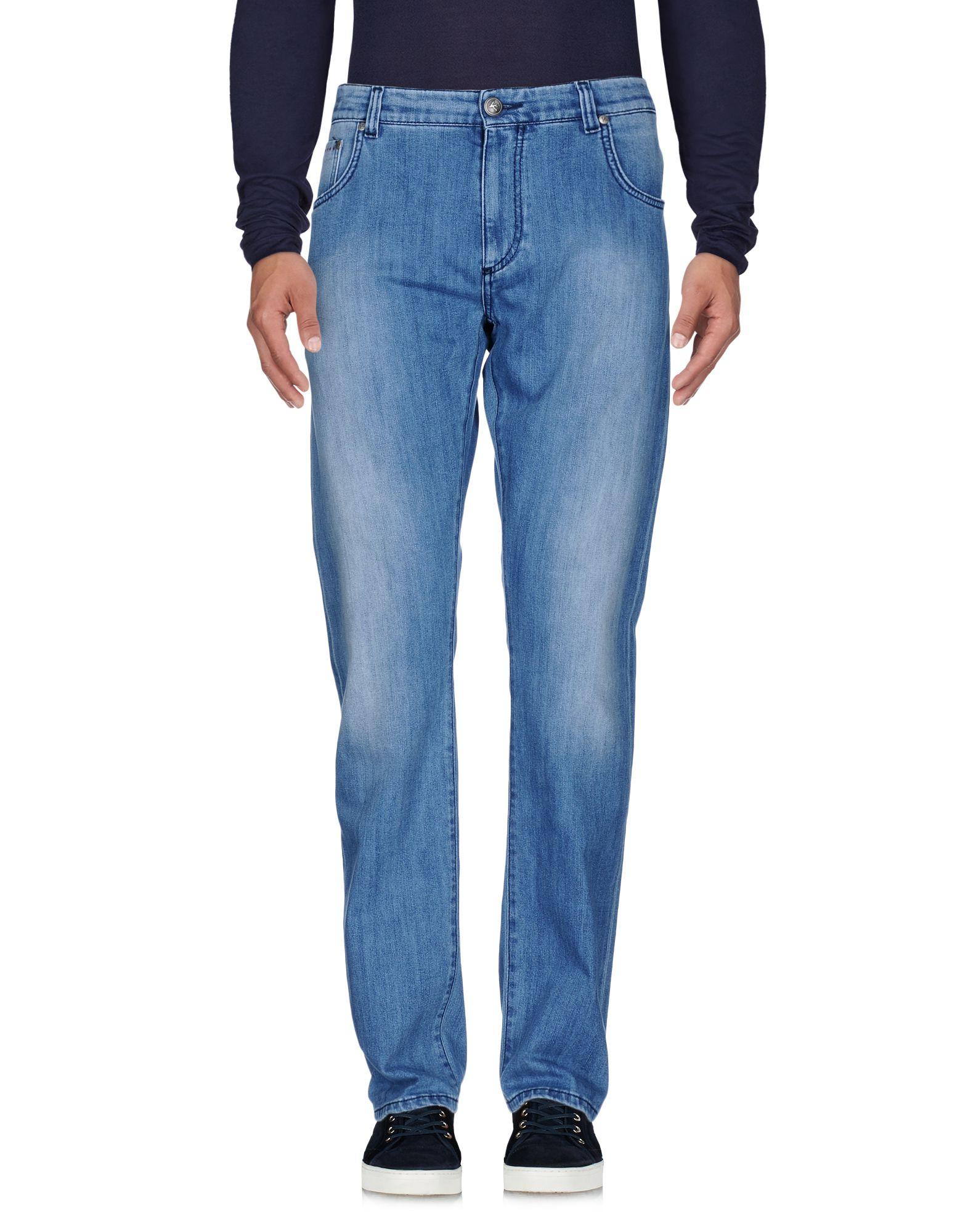 ISAIA Джинсовые брюки кардиган isaia коричневый
