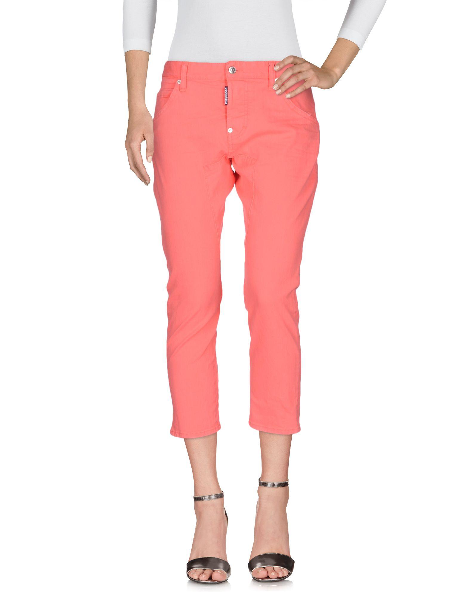 DSQUARED2 Джинсовые брюки-капри start up джинсовые брюки капри
