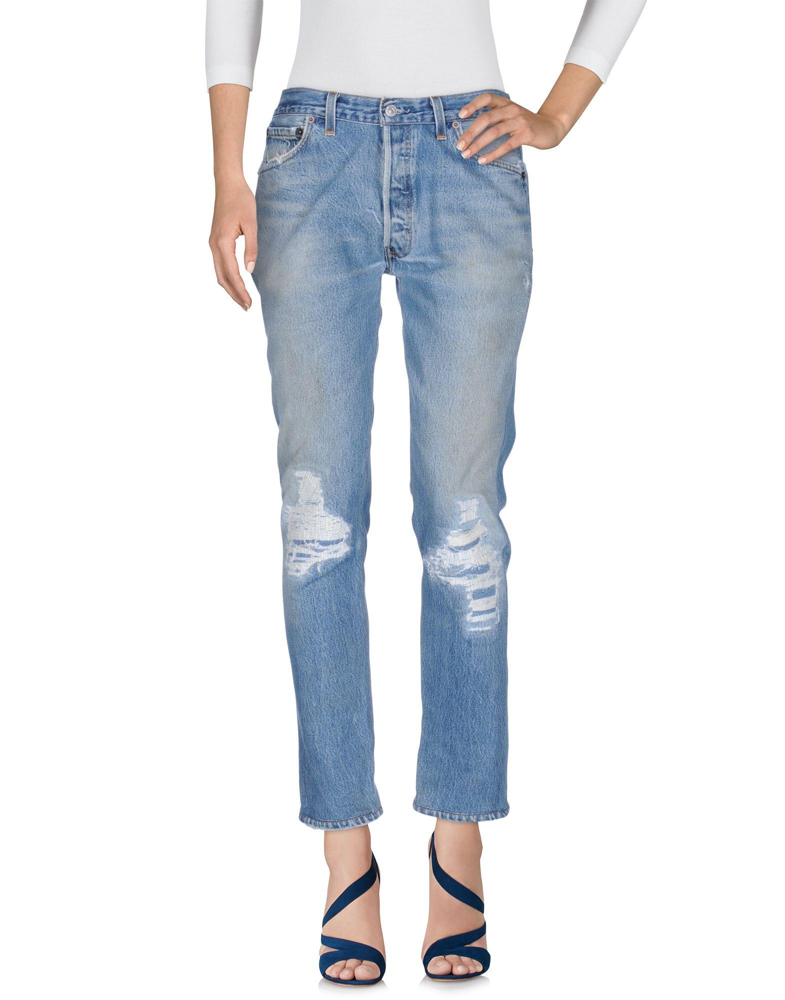 RE/DONE by LEVI'S Джинсовые брюки клей активатор для ремонта шин done deal dd 0365