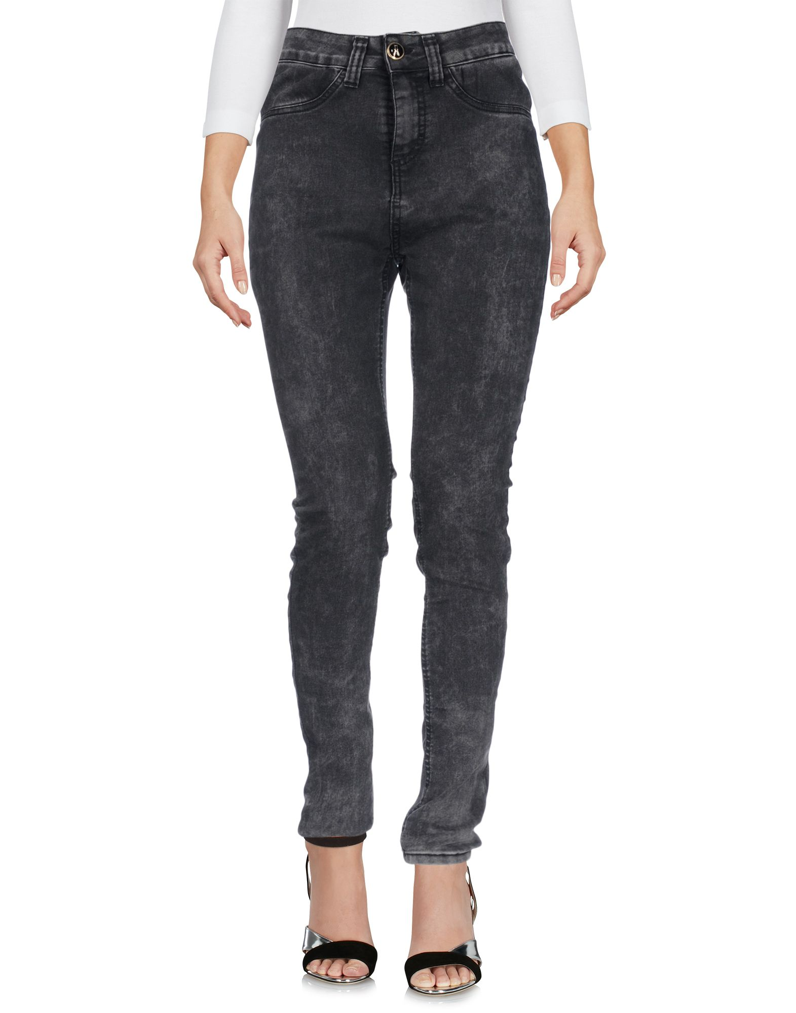 ANIYE BY Damen Jeanshose Farbe Schwarz Größe 6