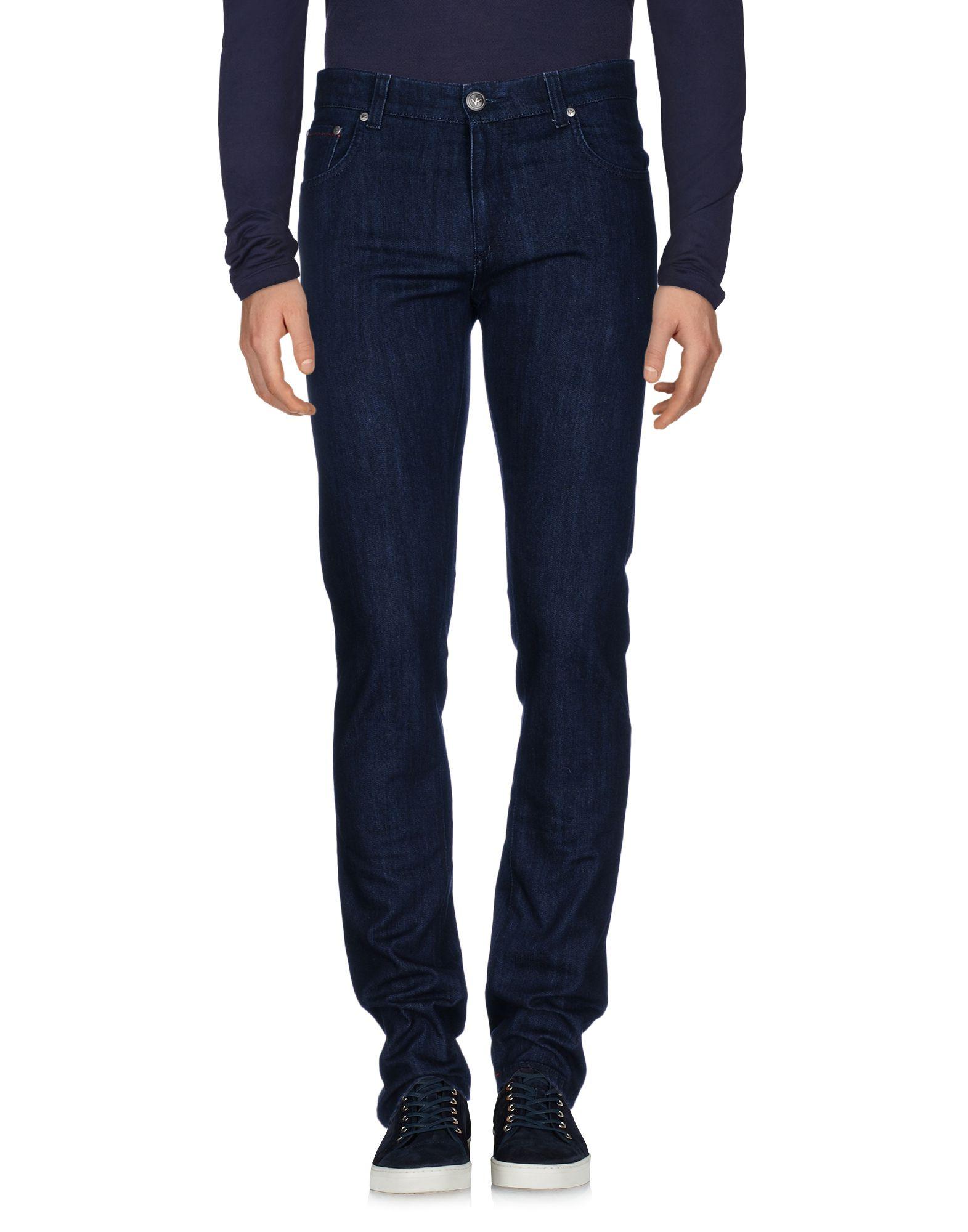 ISAIA Джинсовые брюки цена 2017