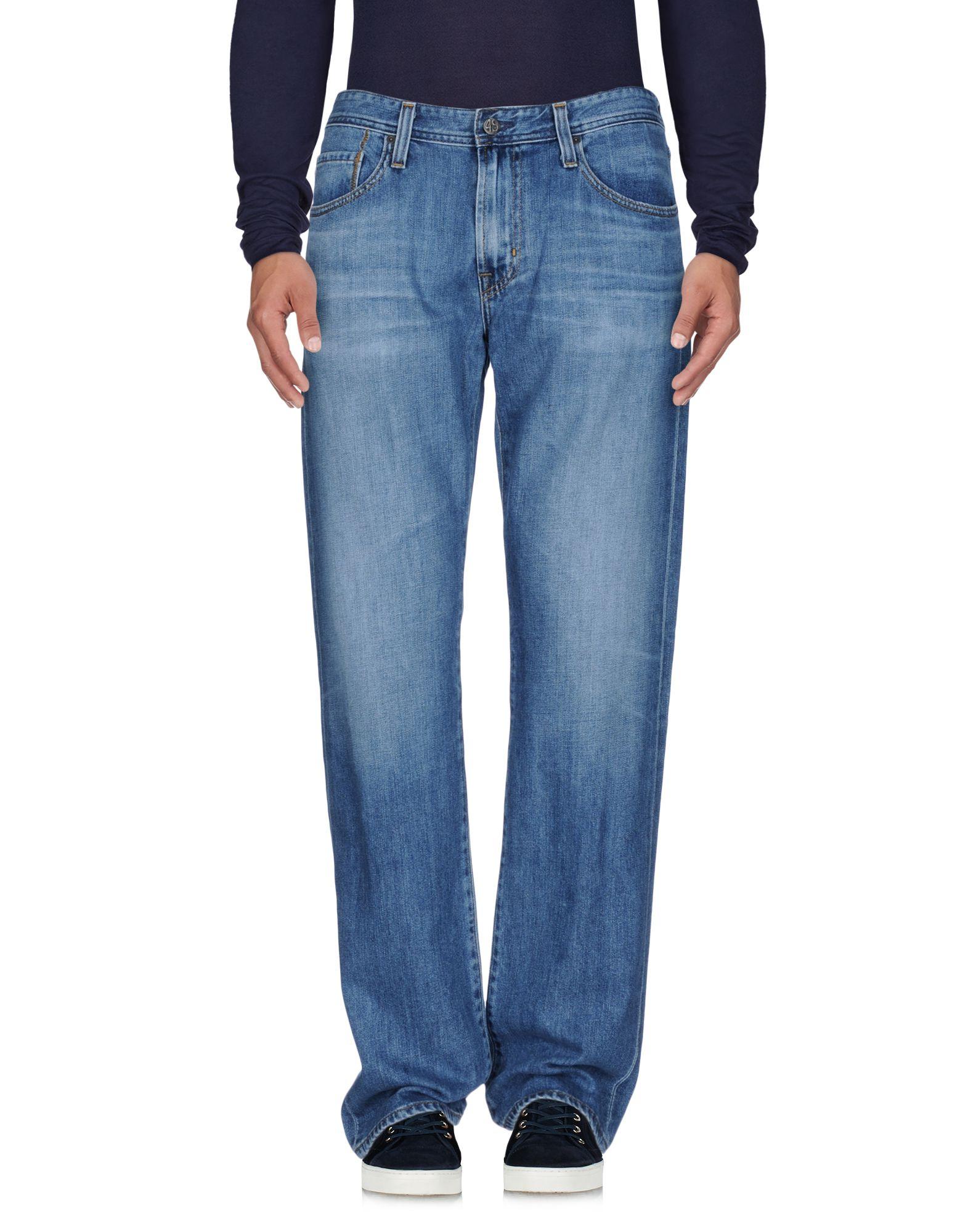 где купить AG ADRIANO GOLDSCHMIED Джинсовые брюки по лучшей цене