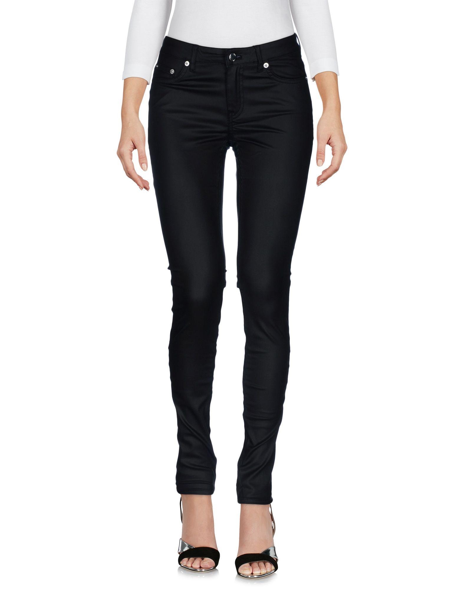 BLK DNM Джинсовые брюки blk dnm короткое платье