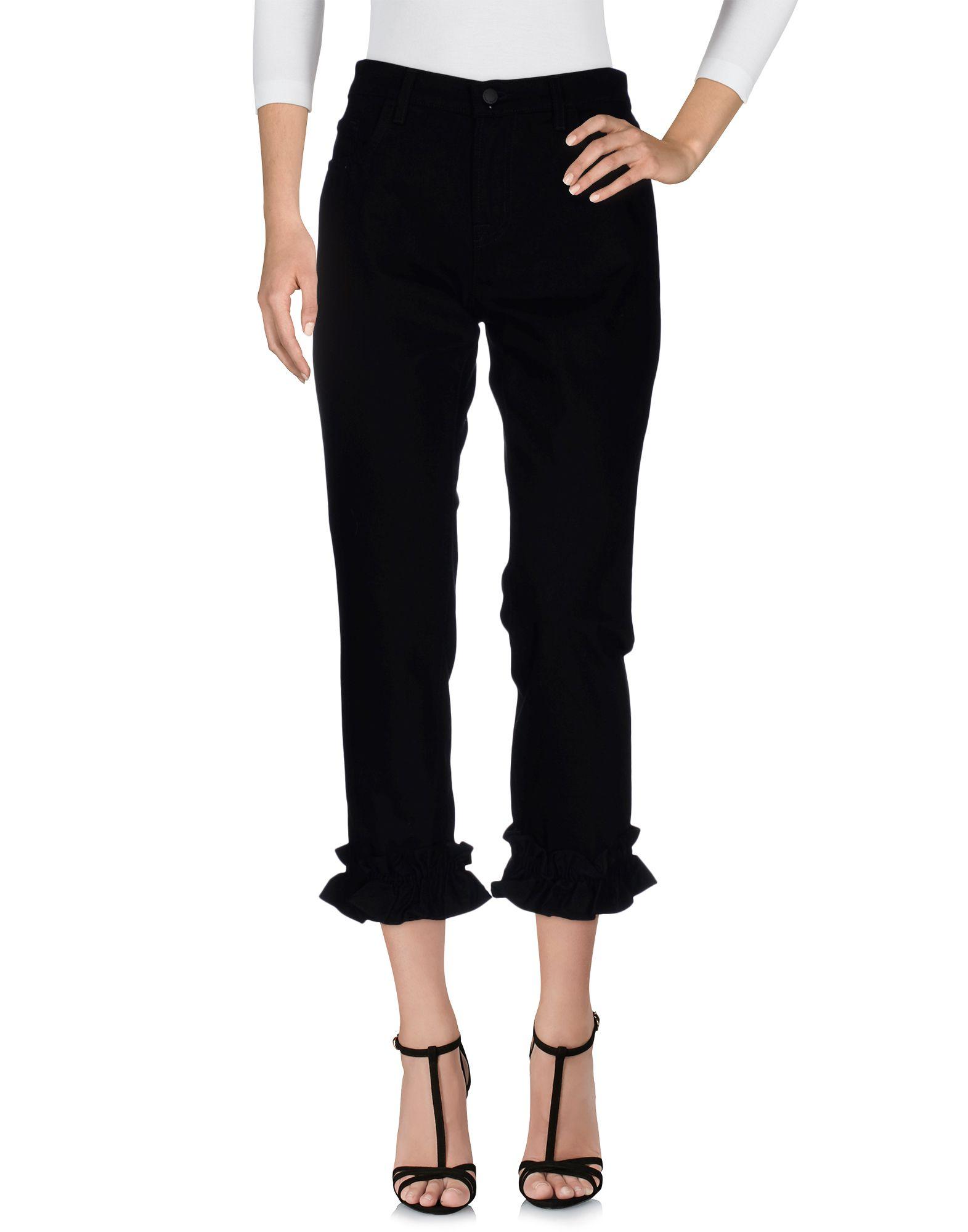 SIMONE ROCHA X J BRAND Denim Pants in Black